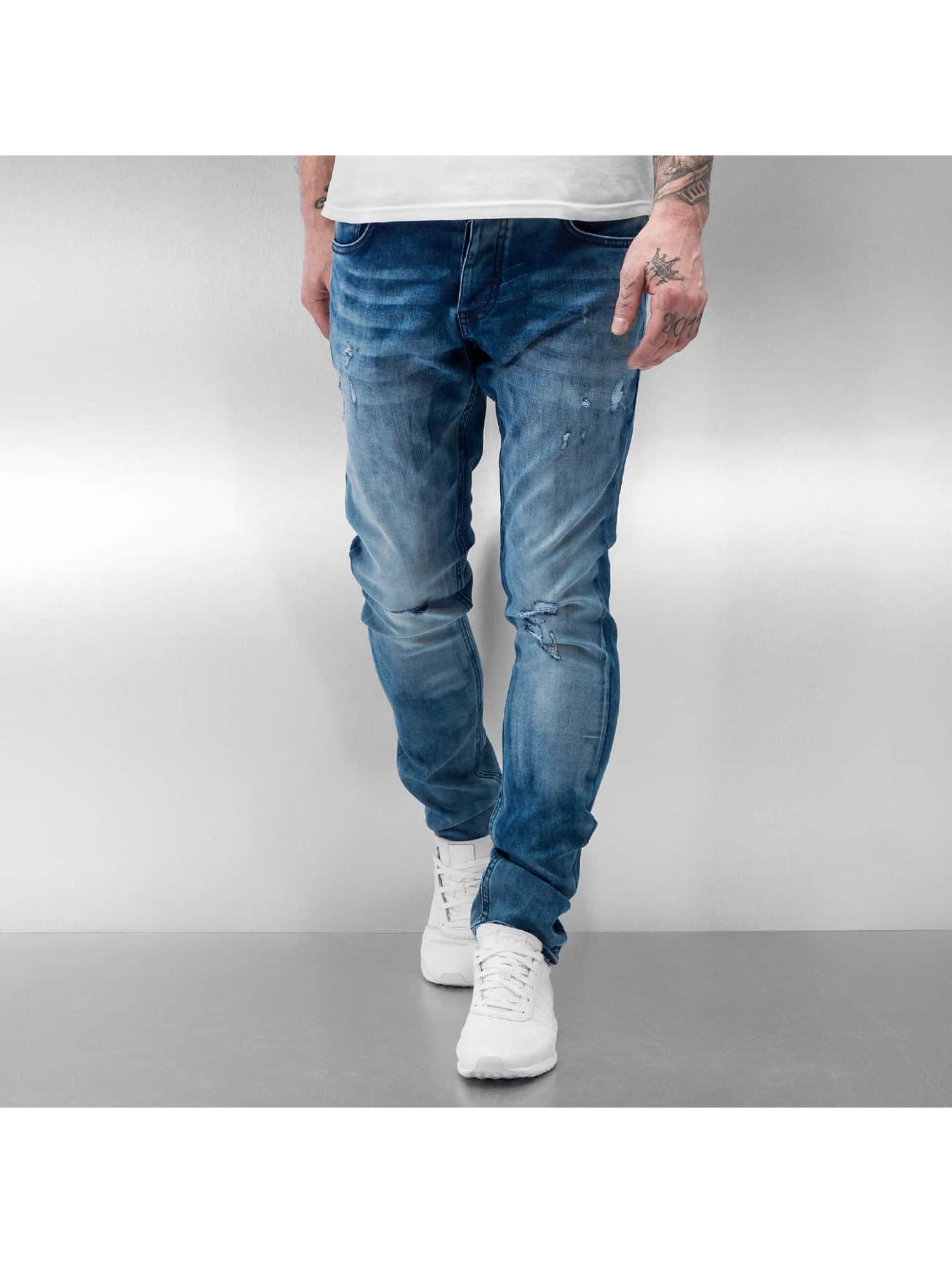 2Y Männer Skinny Jeans Lomir in blau