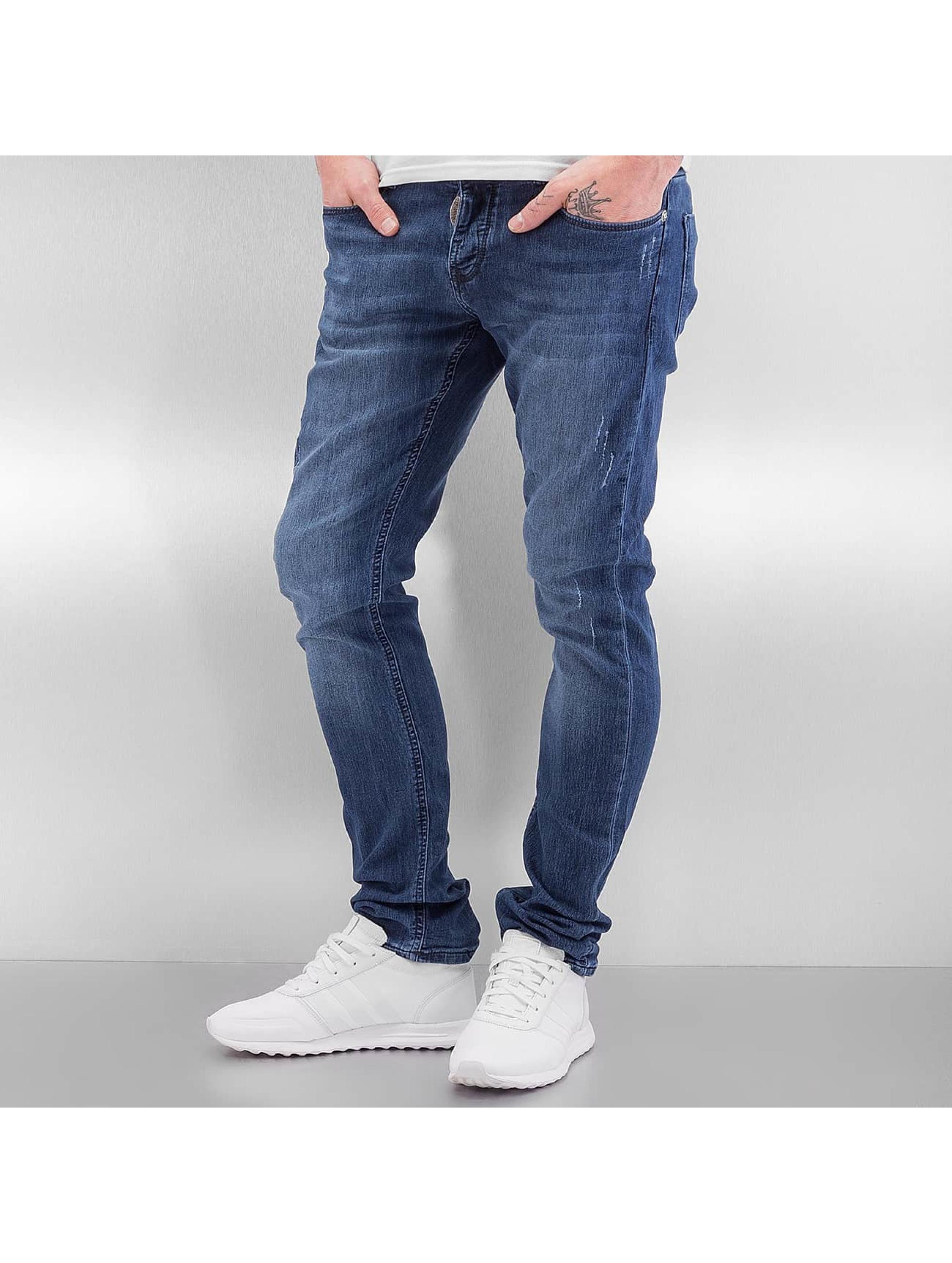 2Y Männer Skinny Jeans Lüttich in blau