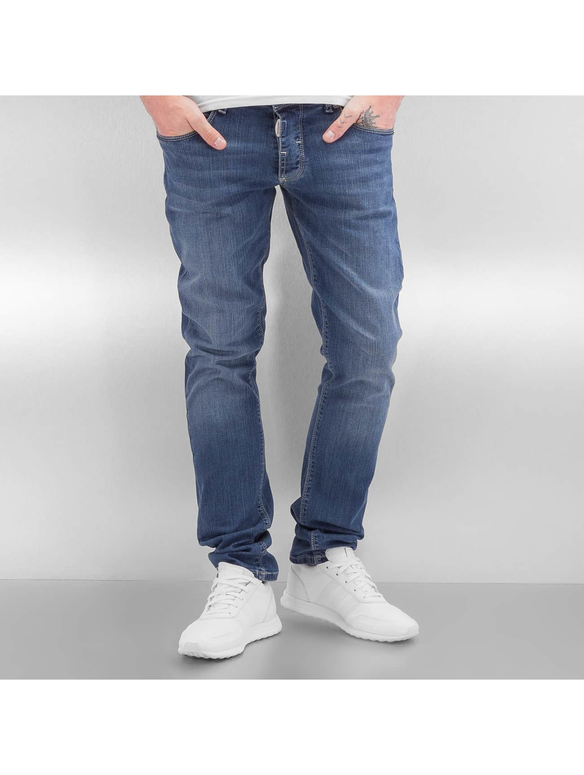 2Y Männer Slim Fit Jeans Turnhout in blau