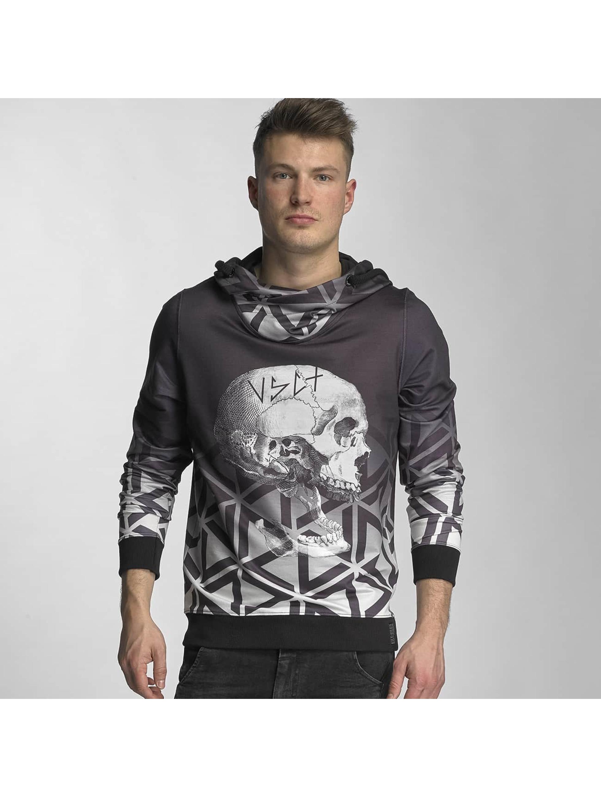 VSCT Clubwear Männer Hoody Twisted Skull Matix in schwarz Sale Angebote Kathlow