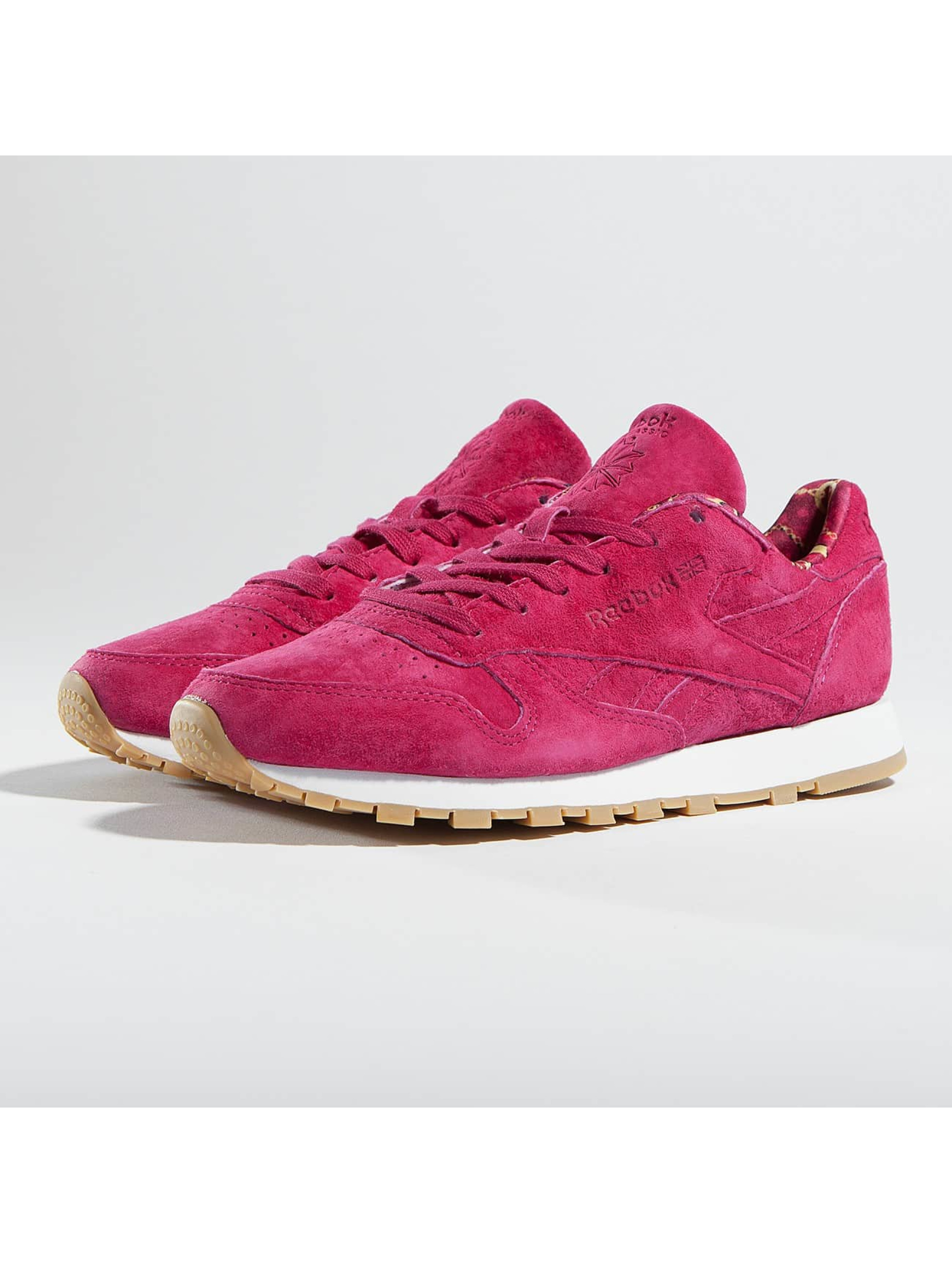 Reebok Classic Leather Sneakers Manic Cherry/White Gum Sale Angebote Sergen