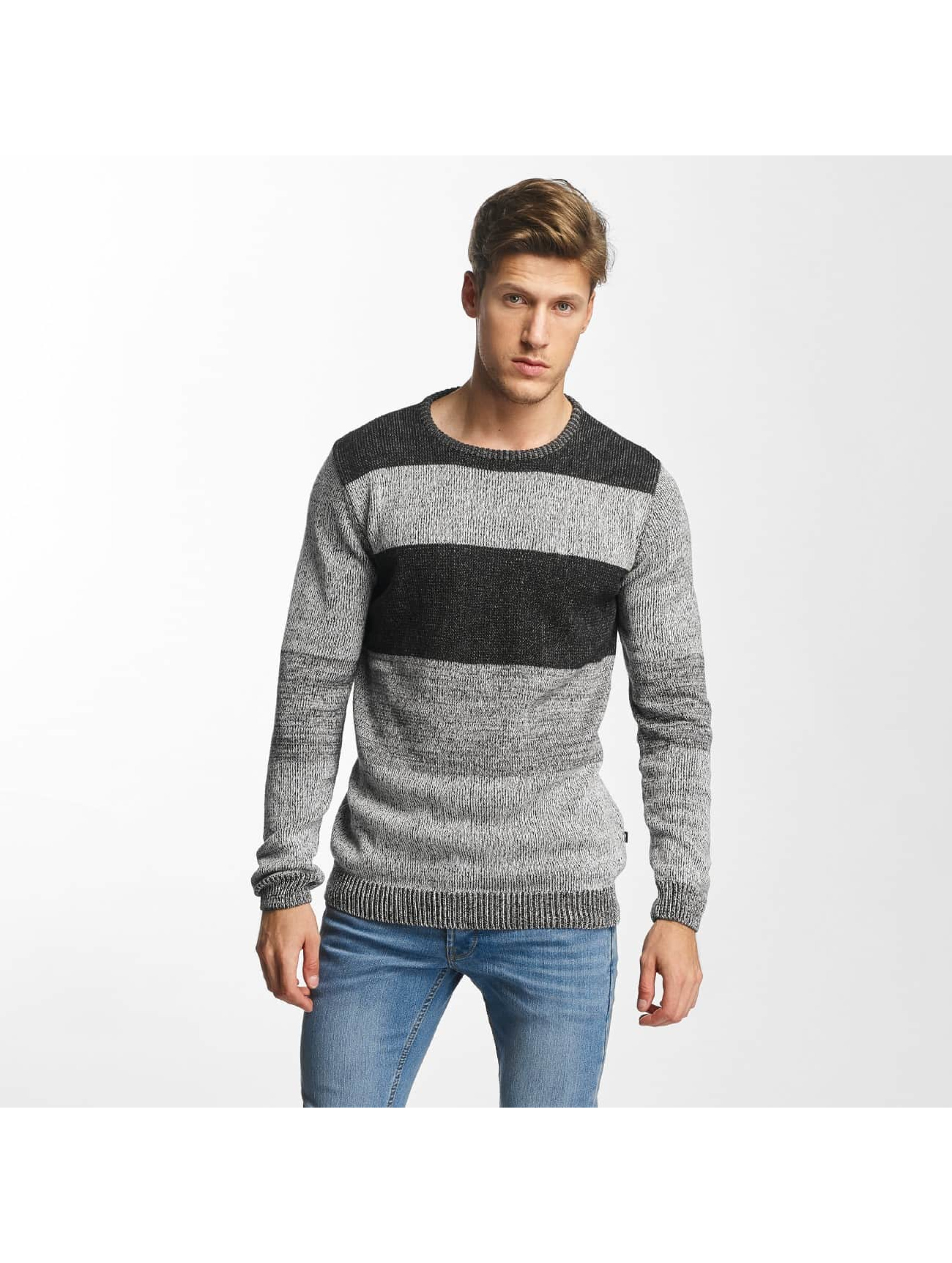Solid Männer Pullover Jamee in grau