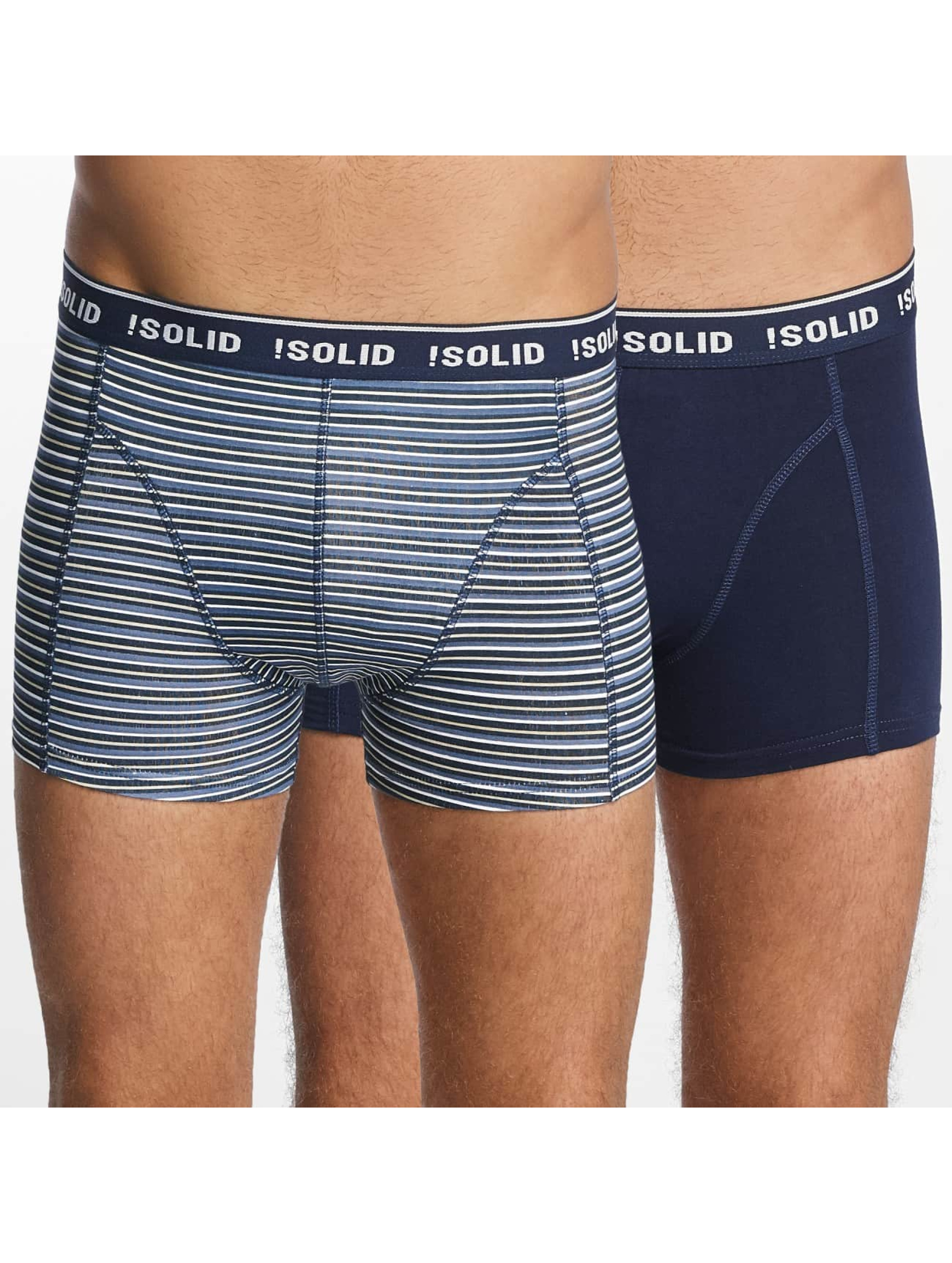 Solid Männer Boxershorts Jacky Trunks 2-Pack in bunt
