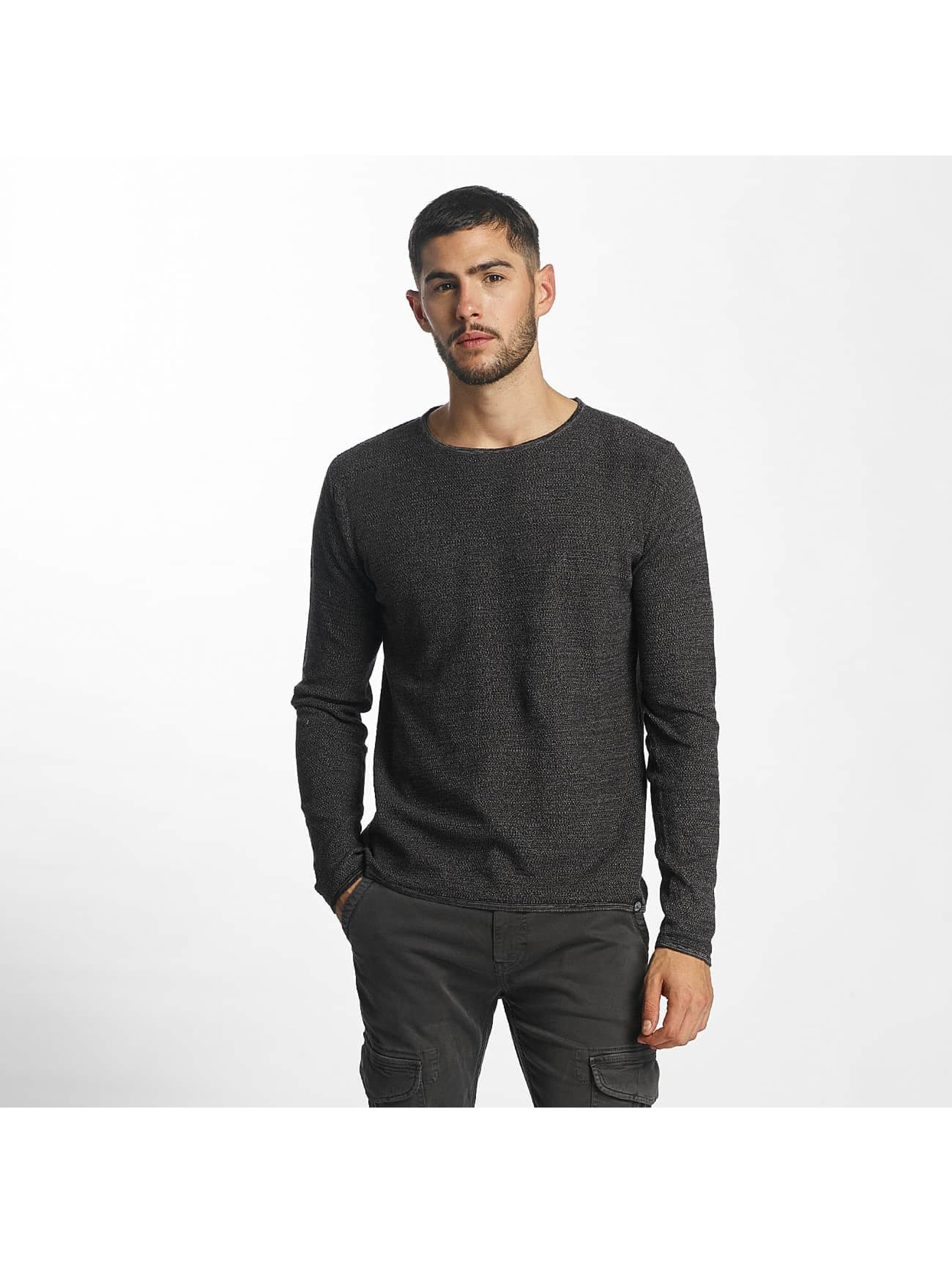 Solid Männer Pullover Jasen in grau
