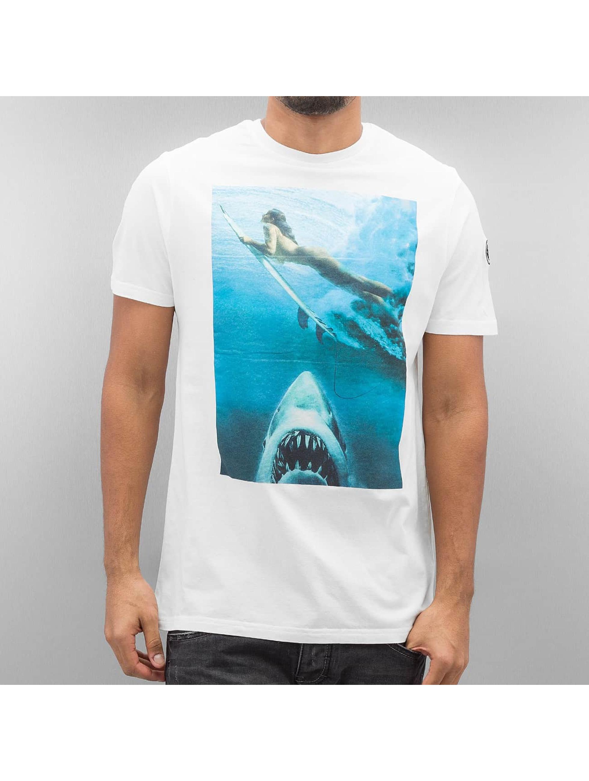 Le Temps Des Cerises Männer T-Shirt Miguel in weiß