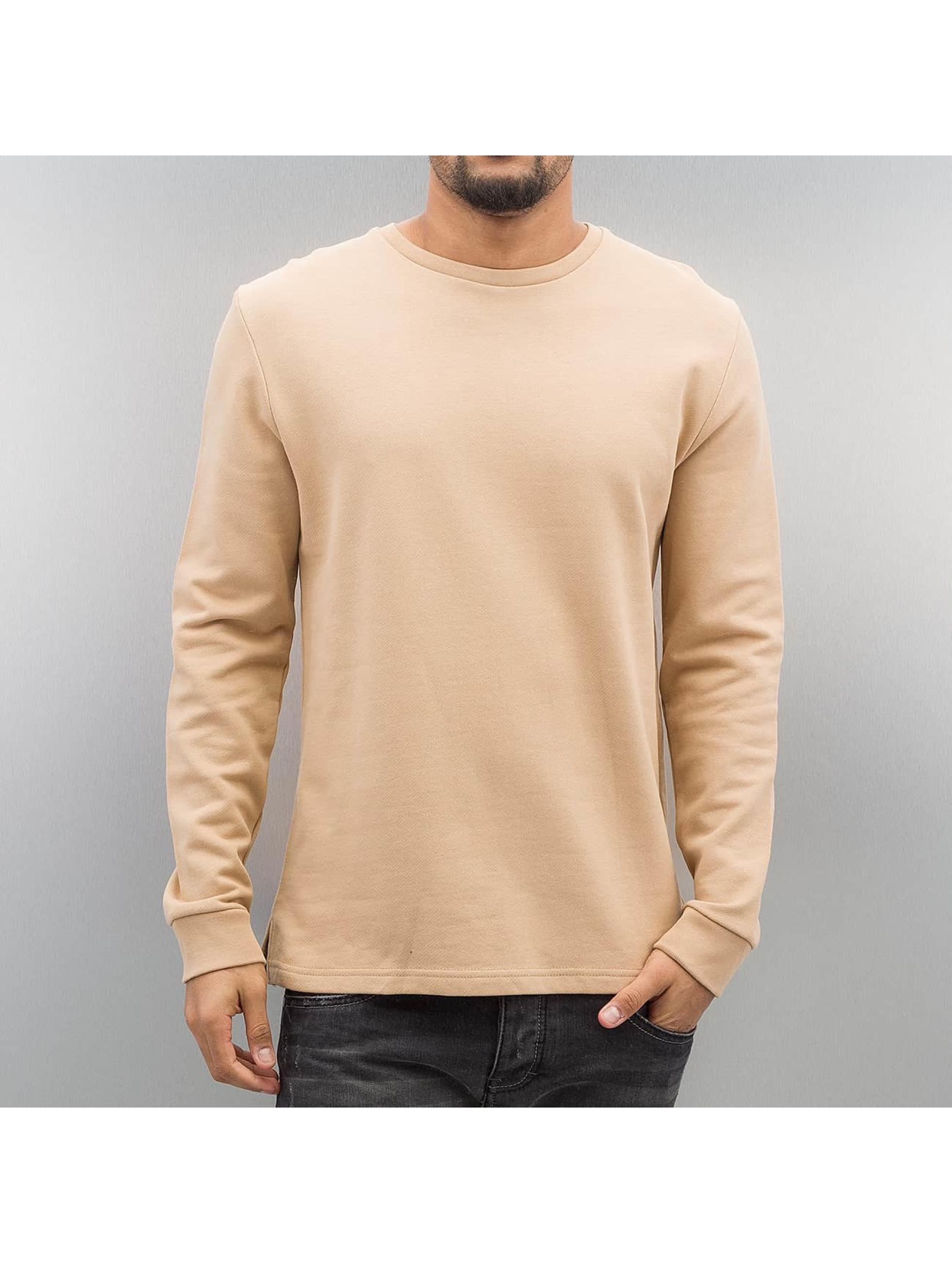 Bangastic Männer Pullover Sweatshirt in beige