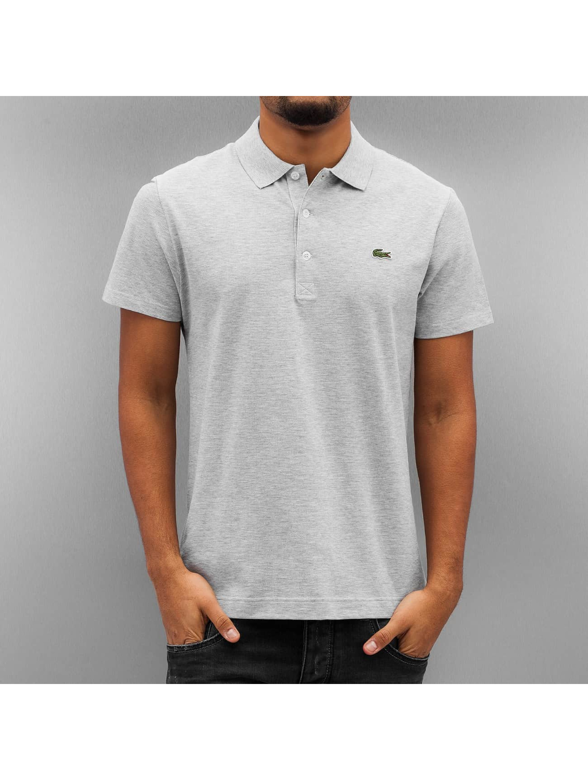Lacoste Classic Männer Poloshirt Basic in grau