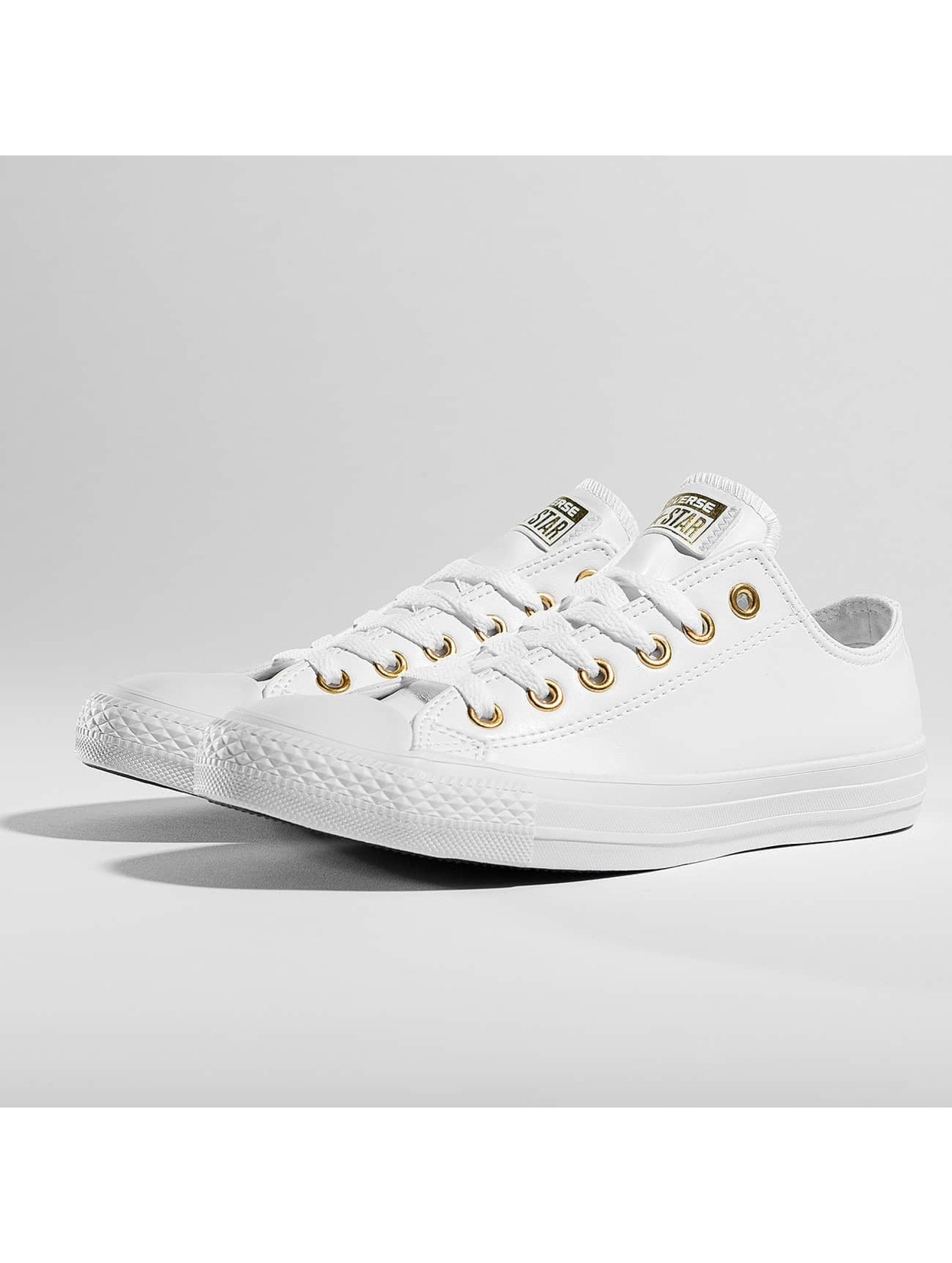 Converse Chuck Taylor All Star Ox Sneakers White/Goldcolored/White Sale Angebote Reuthen