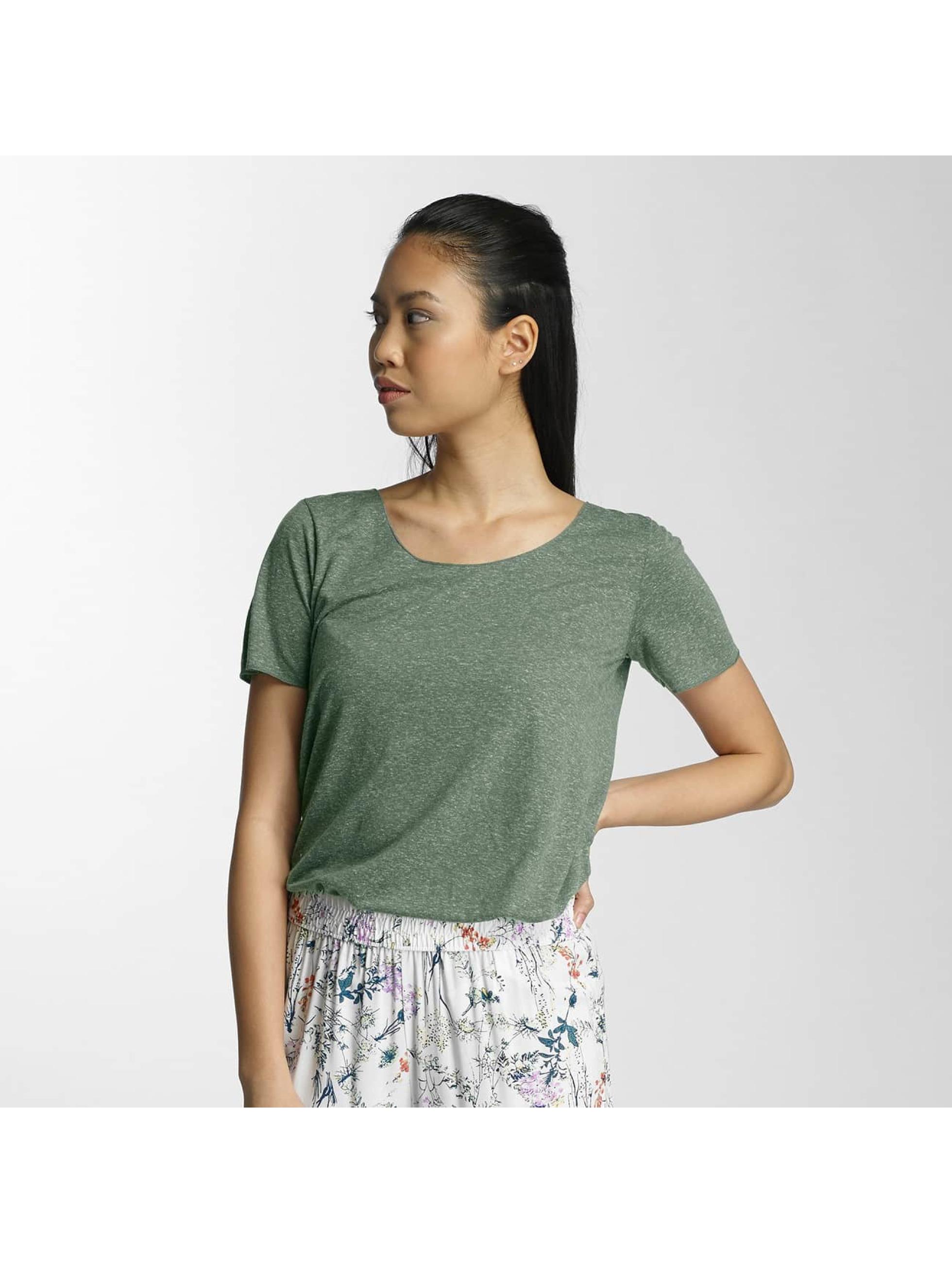 JACQUELINE de YONG Frauen T-Shirt jdyLinette in grün