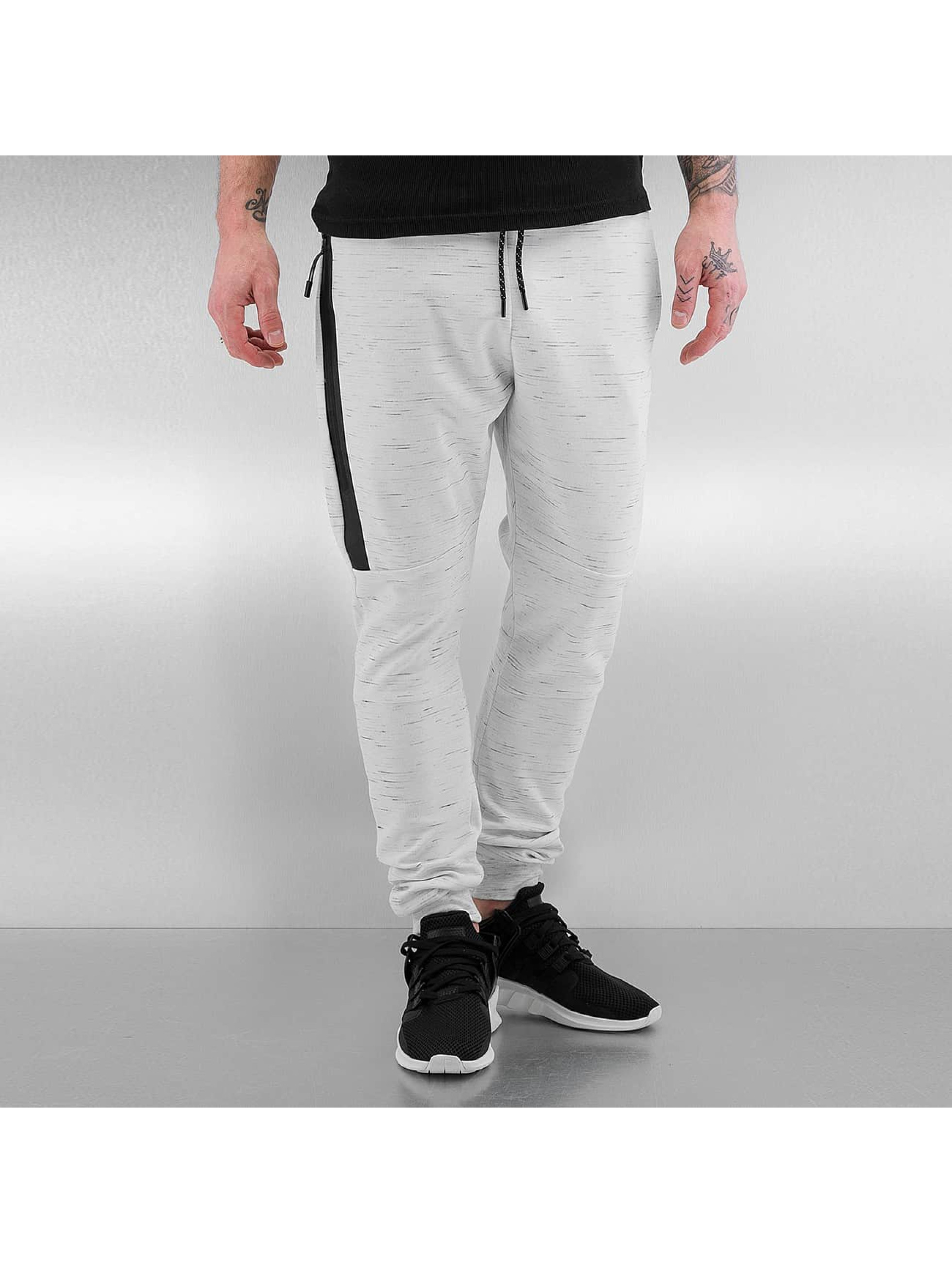 Who Shot Ya? / Sweat Pant Melange in white XL