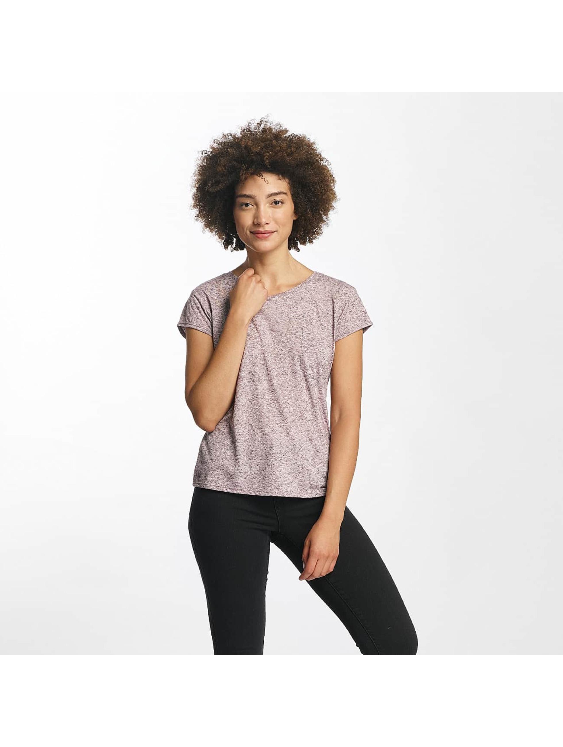 JACQUELINE de YONG Frauen T-Shirt jdyBolette in rot