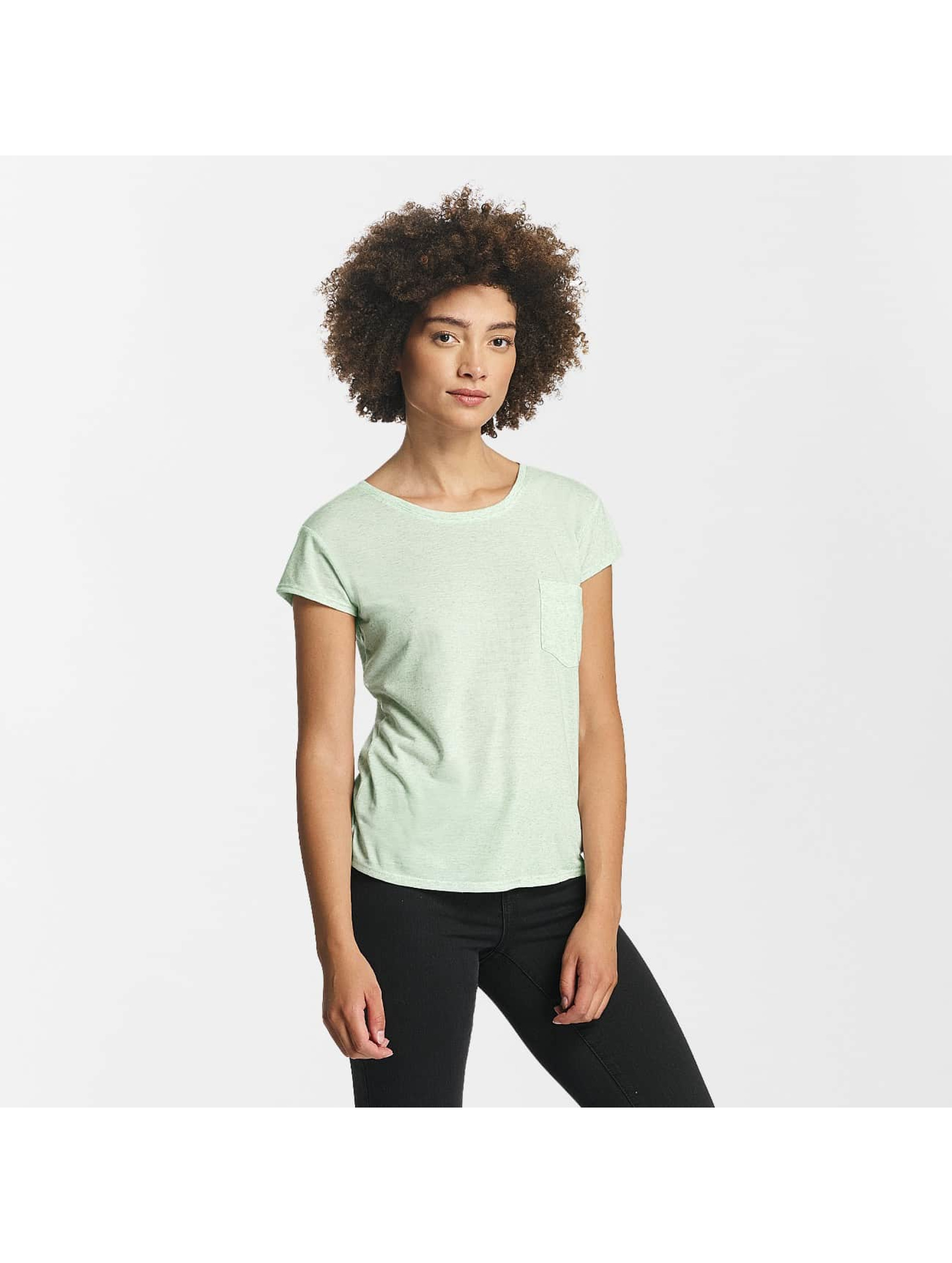 JACQUELINE de YONG Frauen T-Shirt jdyBolette in grün