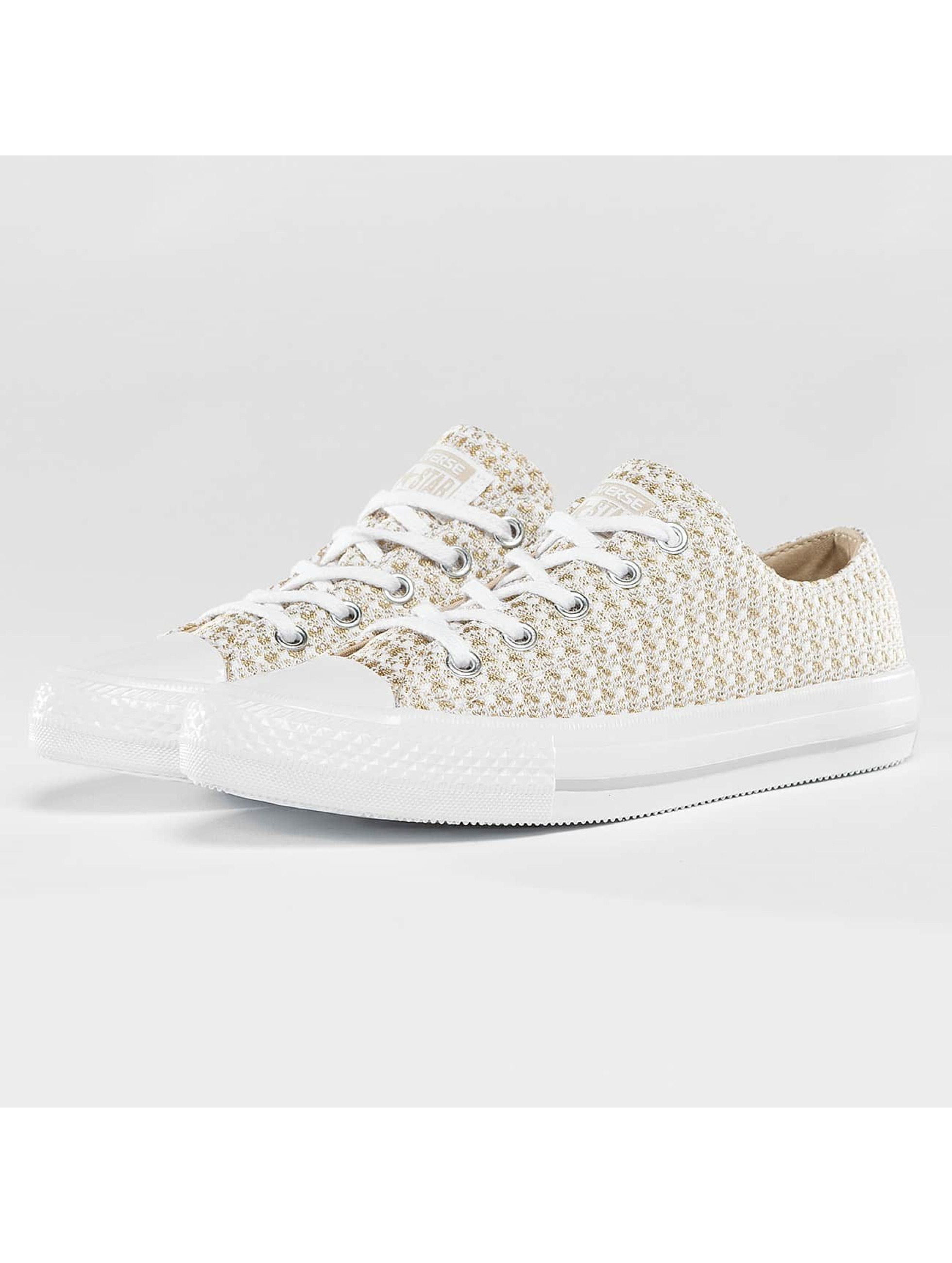 Converse CTAS Gemma Festival Knit Ox Sneakers Rope/White/Mouse Sale Angebote Sergen