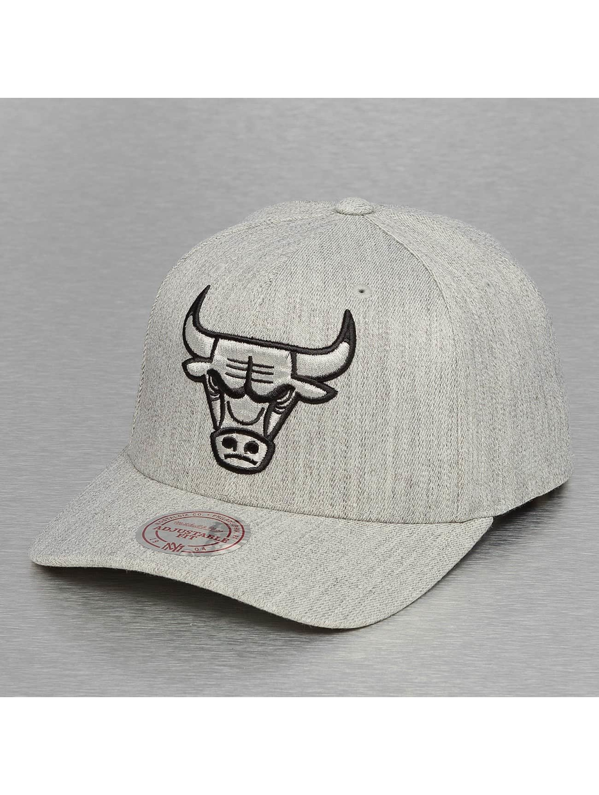 Mitchell & Ness Männer,Frauen Snapback Cap 110 Chicago Bulls in grau