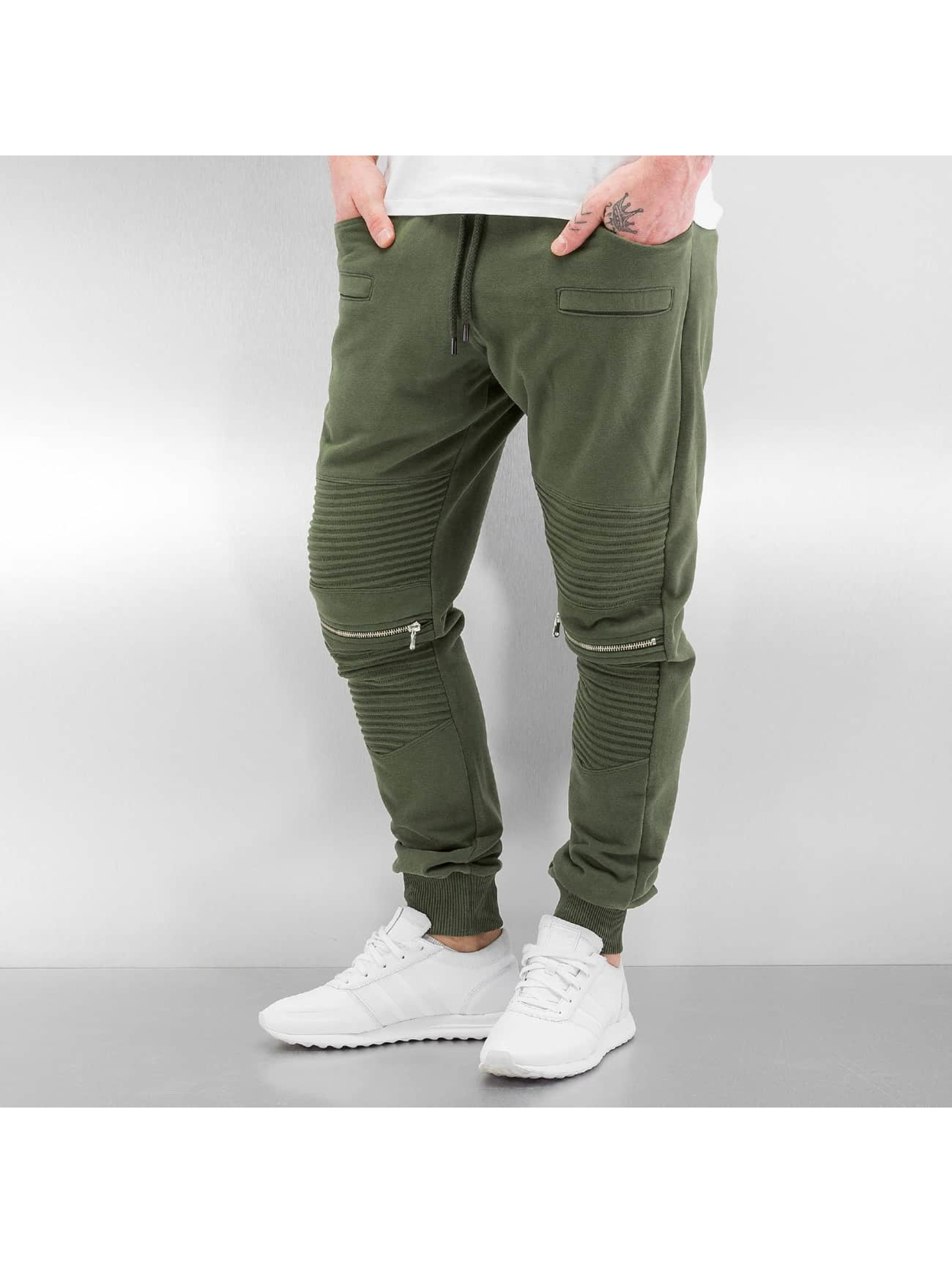 DEF Männer Jogginghose Sheffield in olive