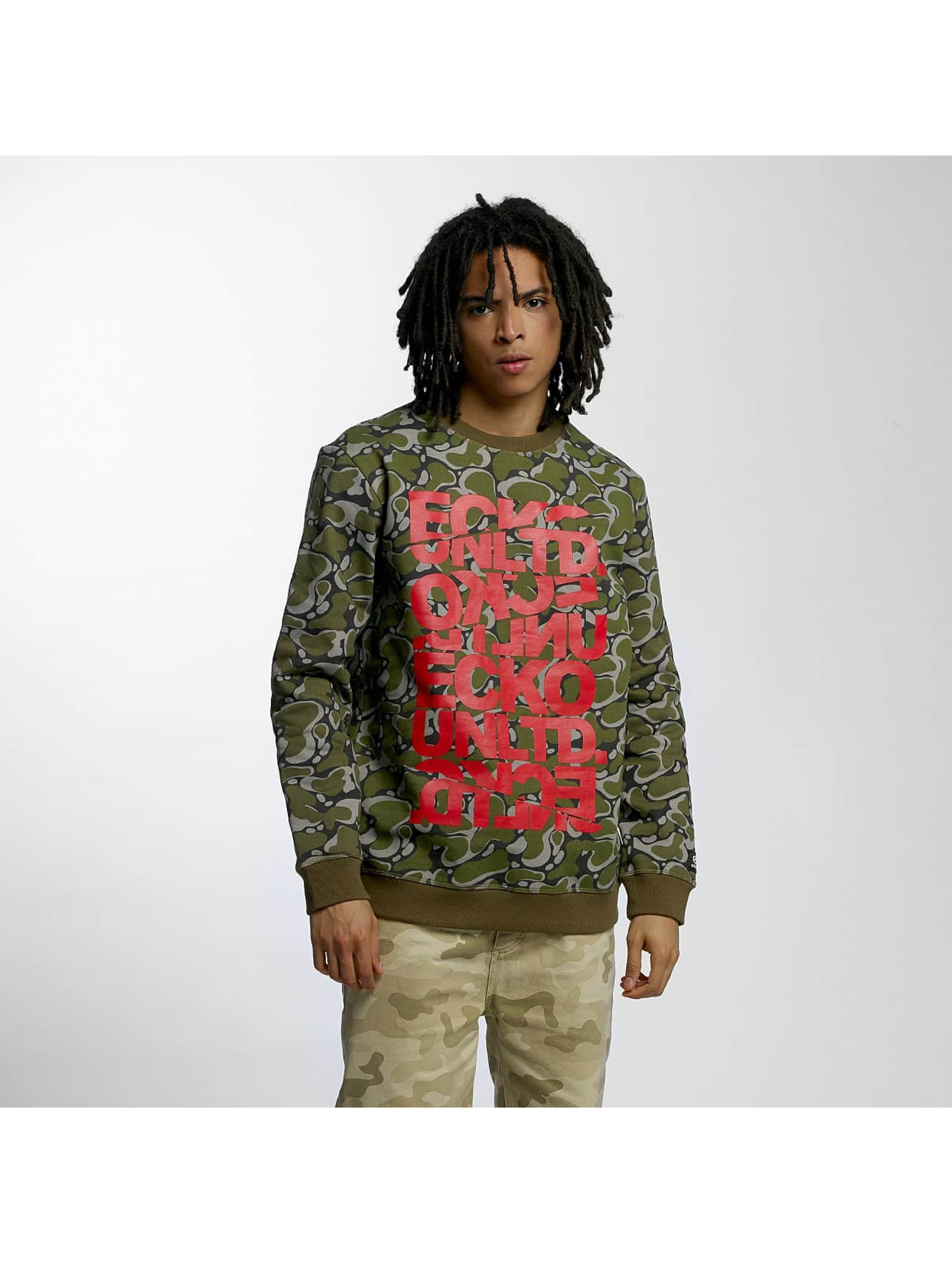 Ecko Unltd. Männer Pullover Military in grün