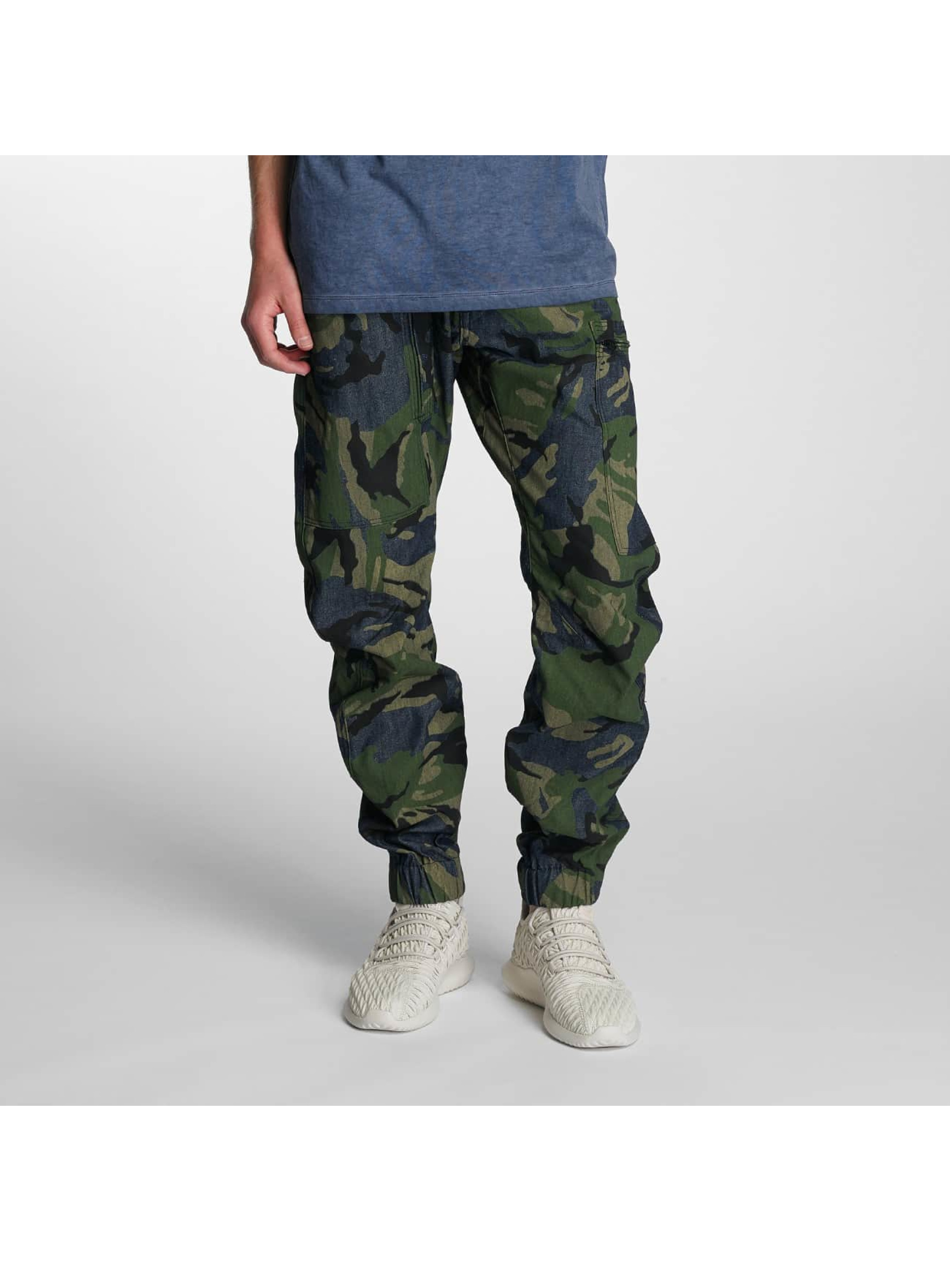 G-Star Männer Antifit 3D Cuffed Tapered Jeans in blau