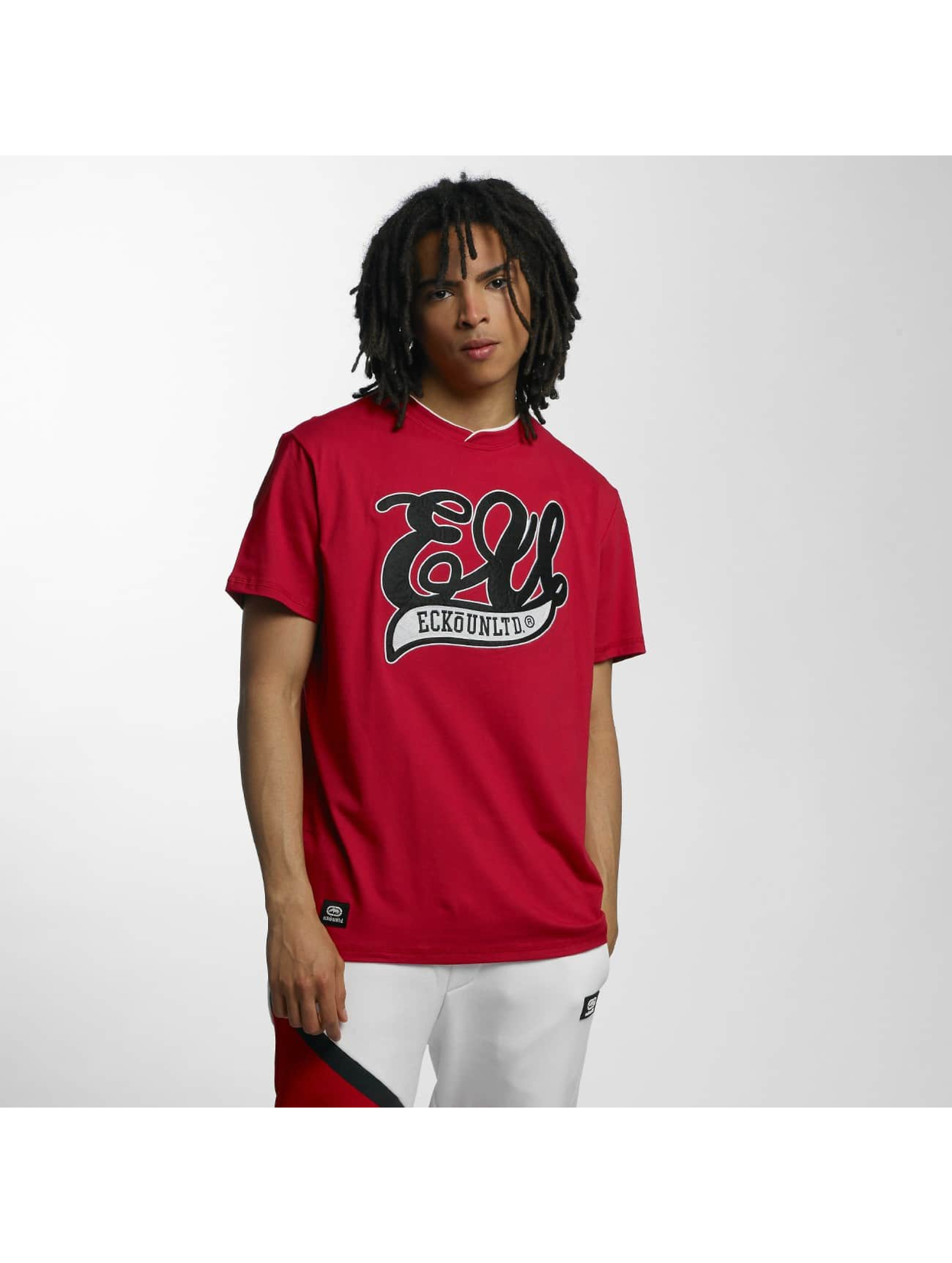 Ecko Unltd. / T-Shirt With Patch in red M