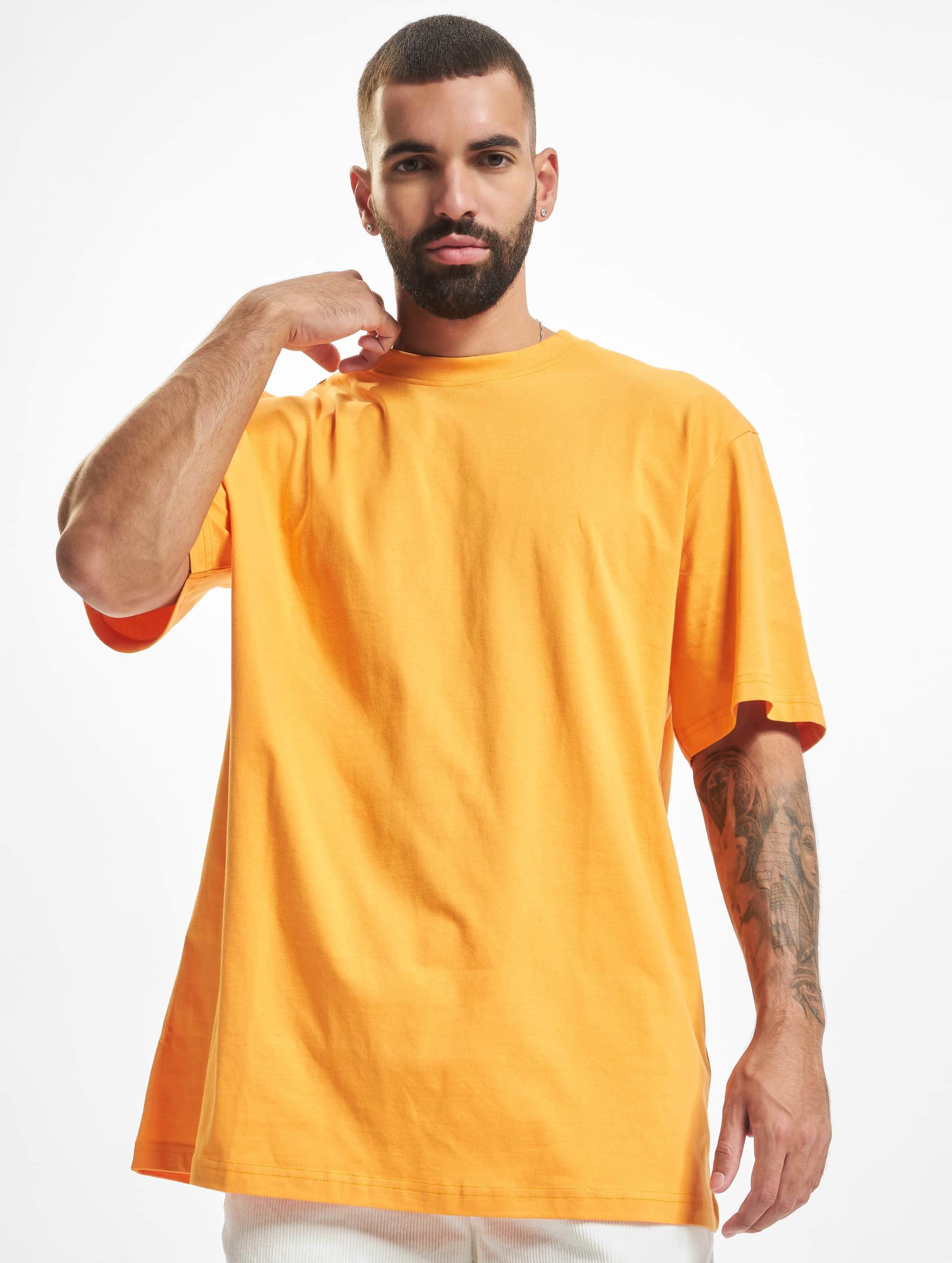 Urban Classics Männer Tall Tees Tall Tee in orange
