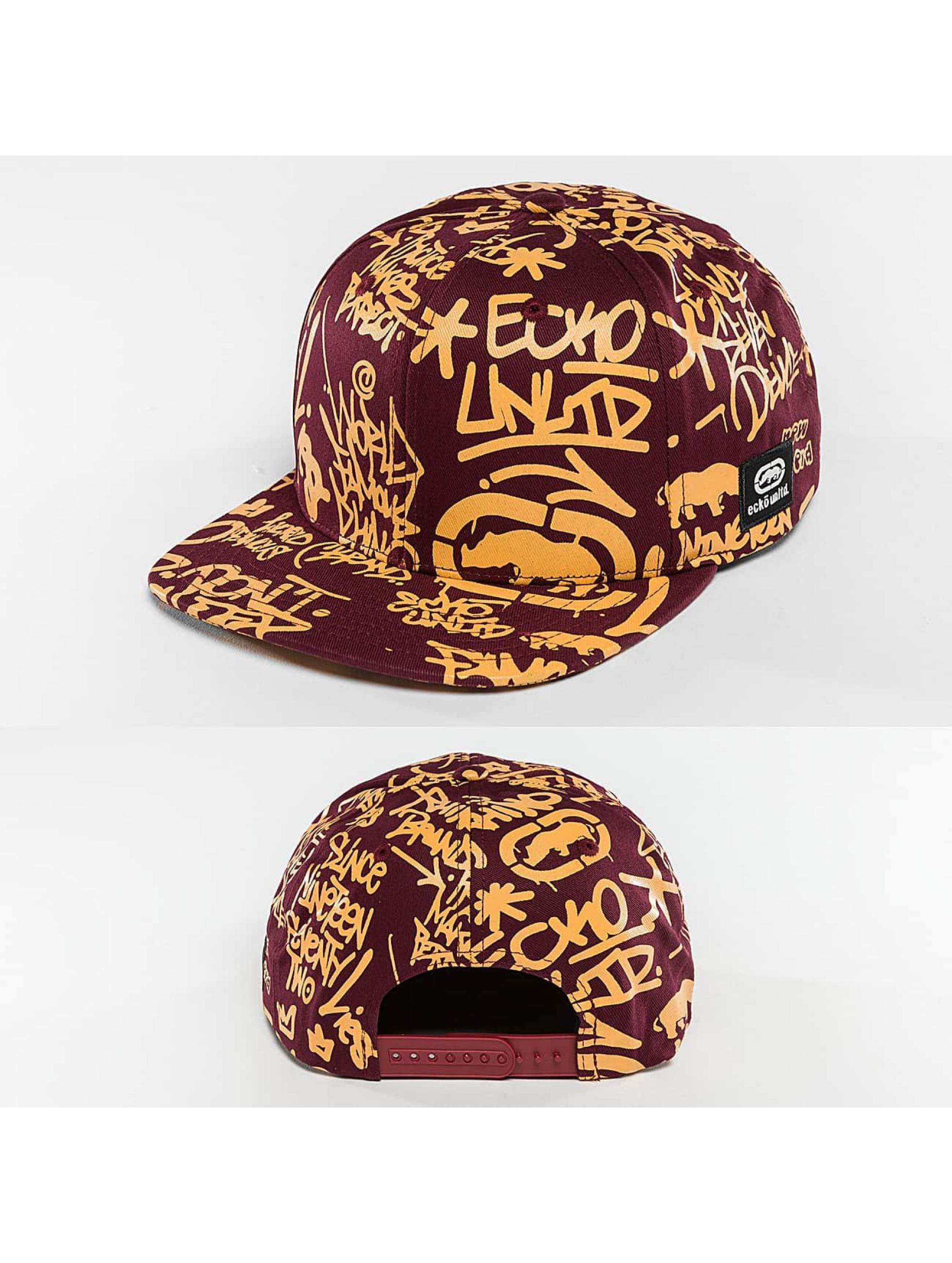 Ecko Unltd. / Snapback Cap Graffiti in purple Adjustable