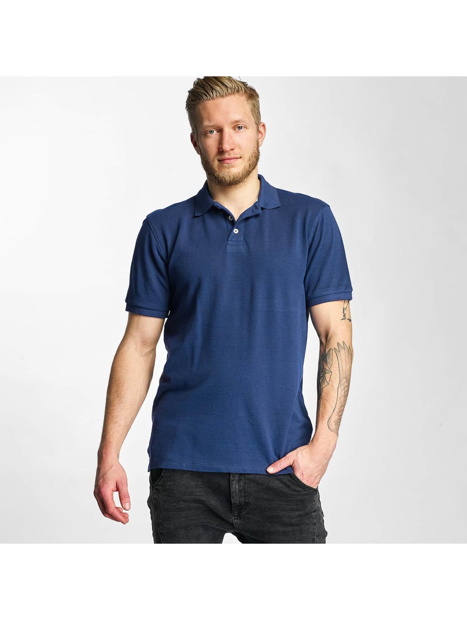Lee Männer Poloshirt Pique in blau