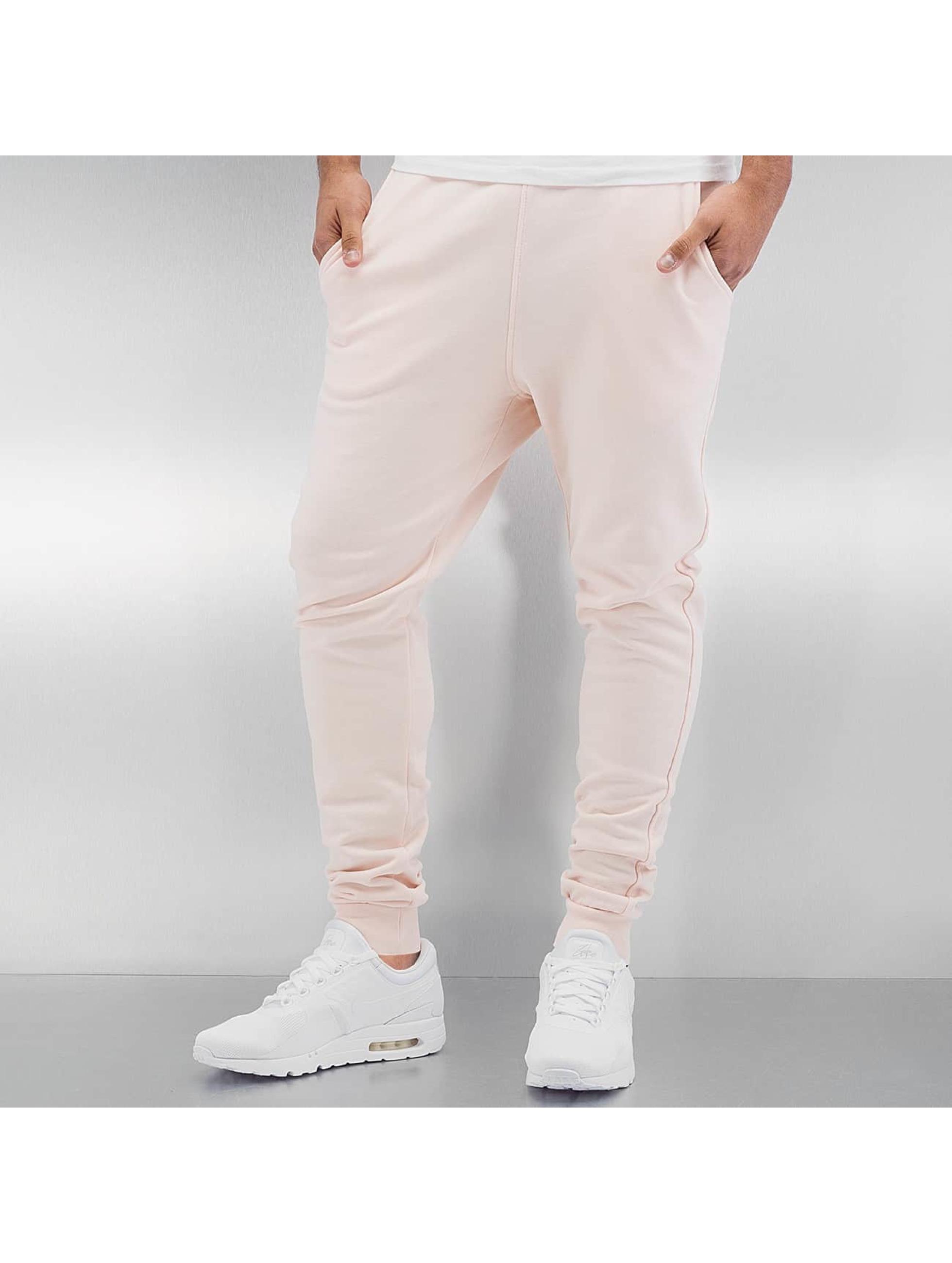 DEF Männer Jogginghose Basic in rosa
