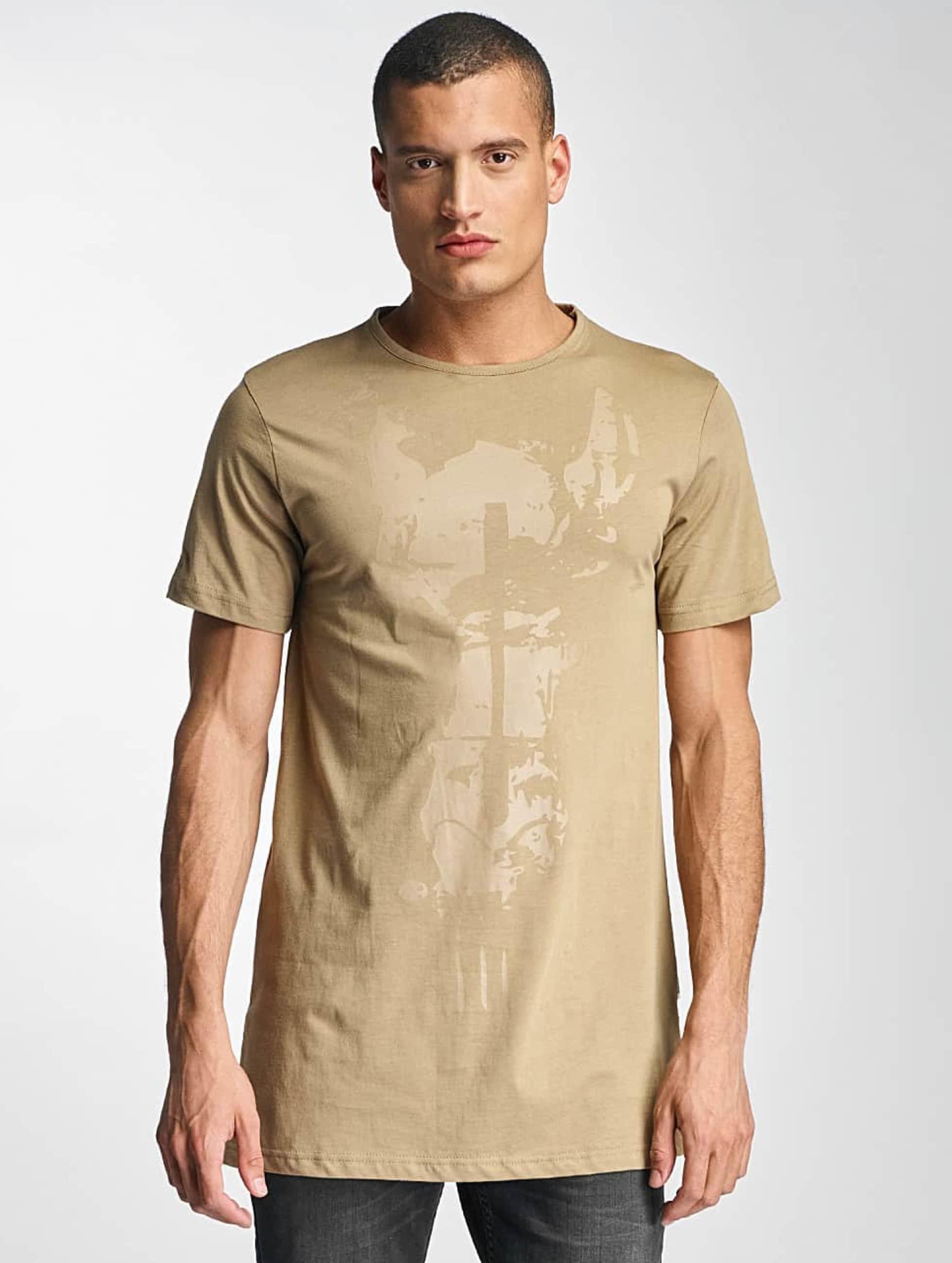 Cavallo de Ferro Männer T-Shirt Streets in beige