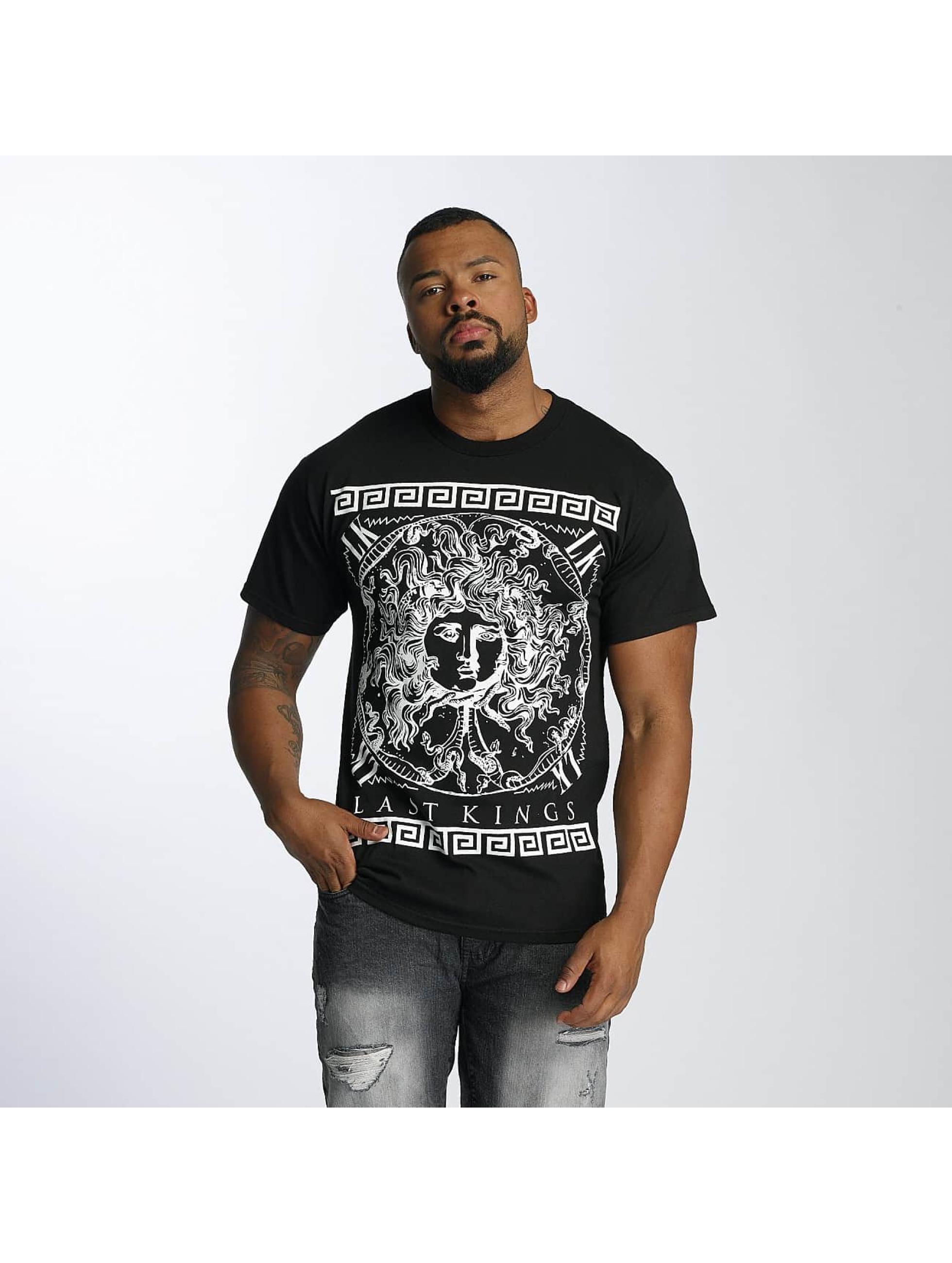Last Kings Männer T-Shirt Medusa in schwarz