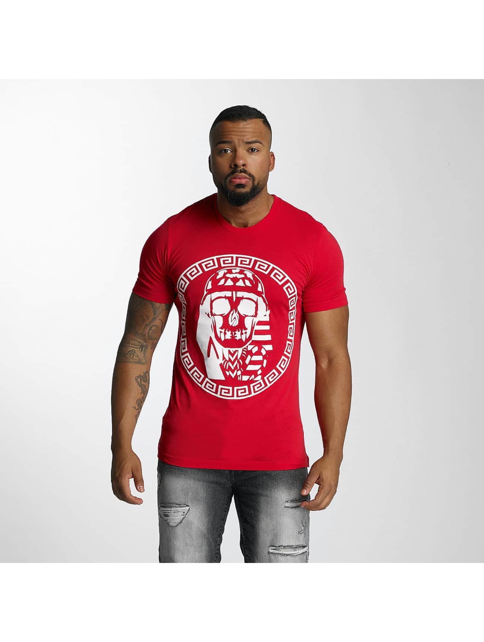 Last Kings Männer T-Shirt Skull in rot
