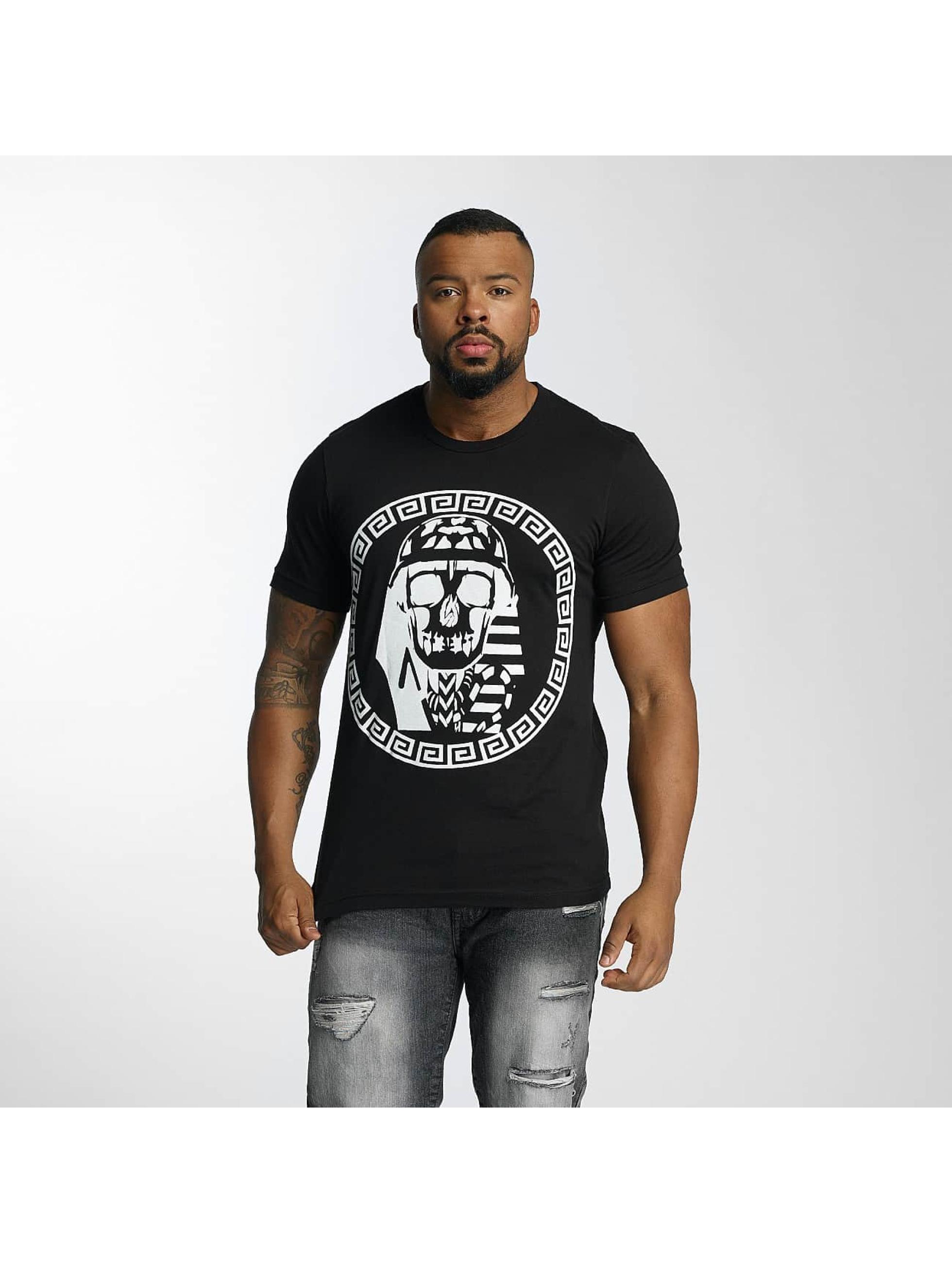 Last Kings Männer T-Shirt Skull in schwarz