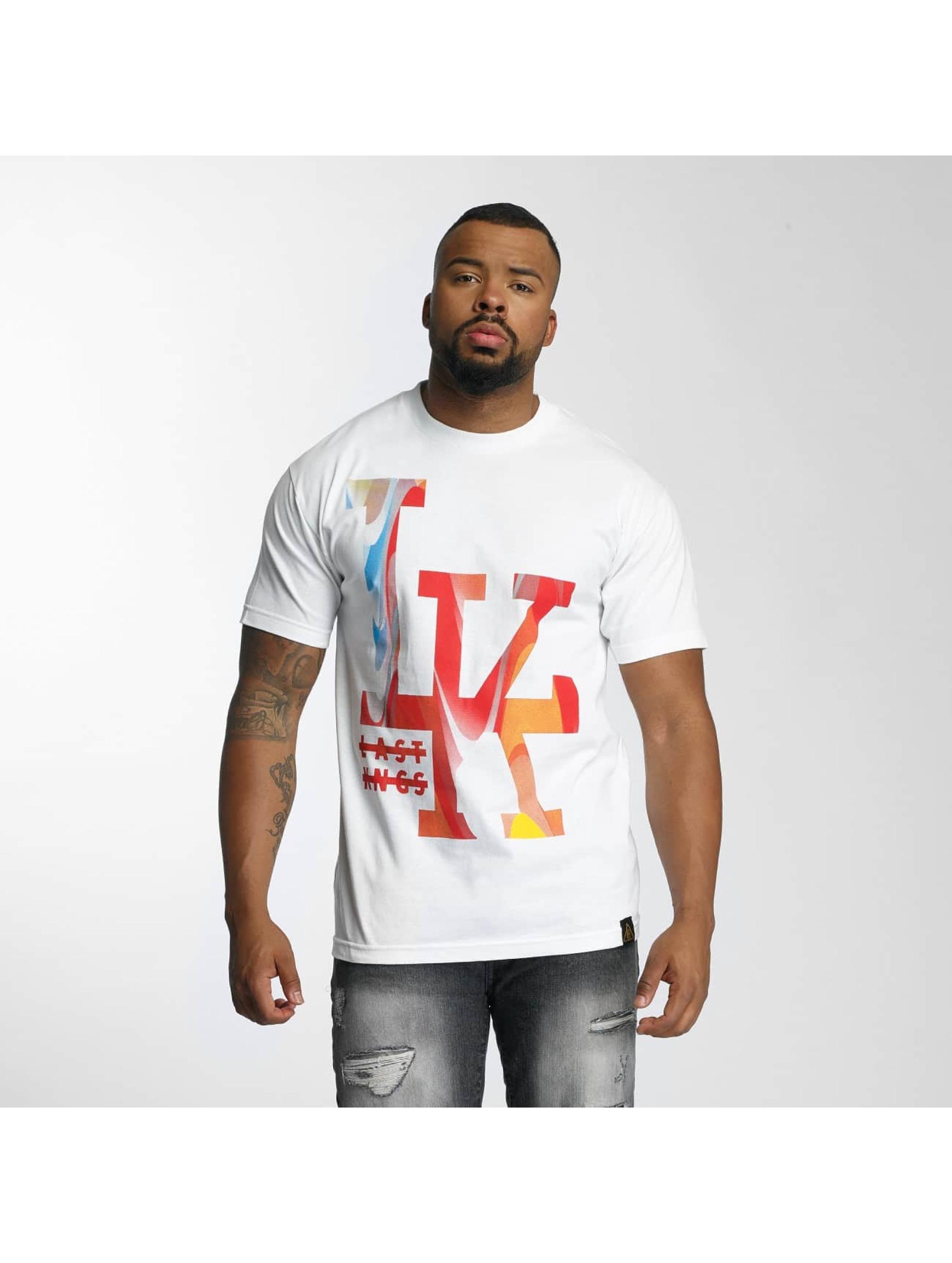 Last Kings Männer T-Shirt Splurge in weiß
