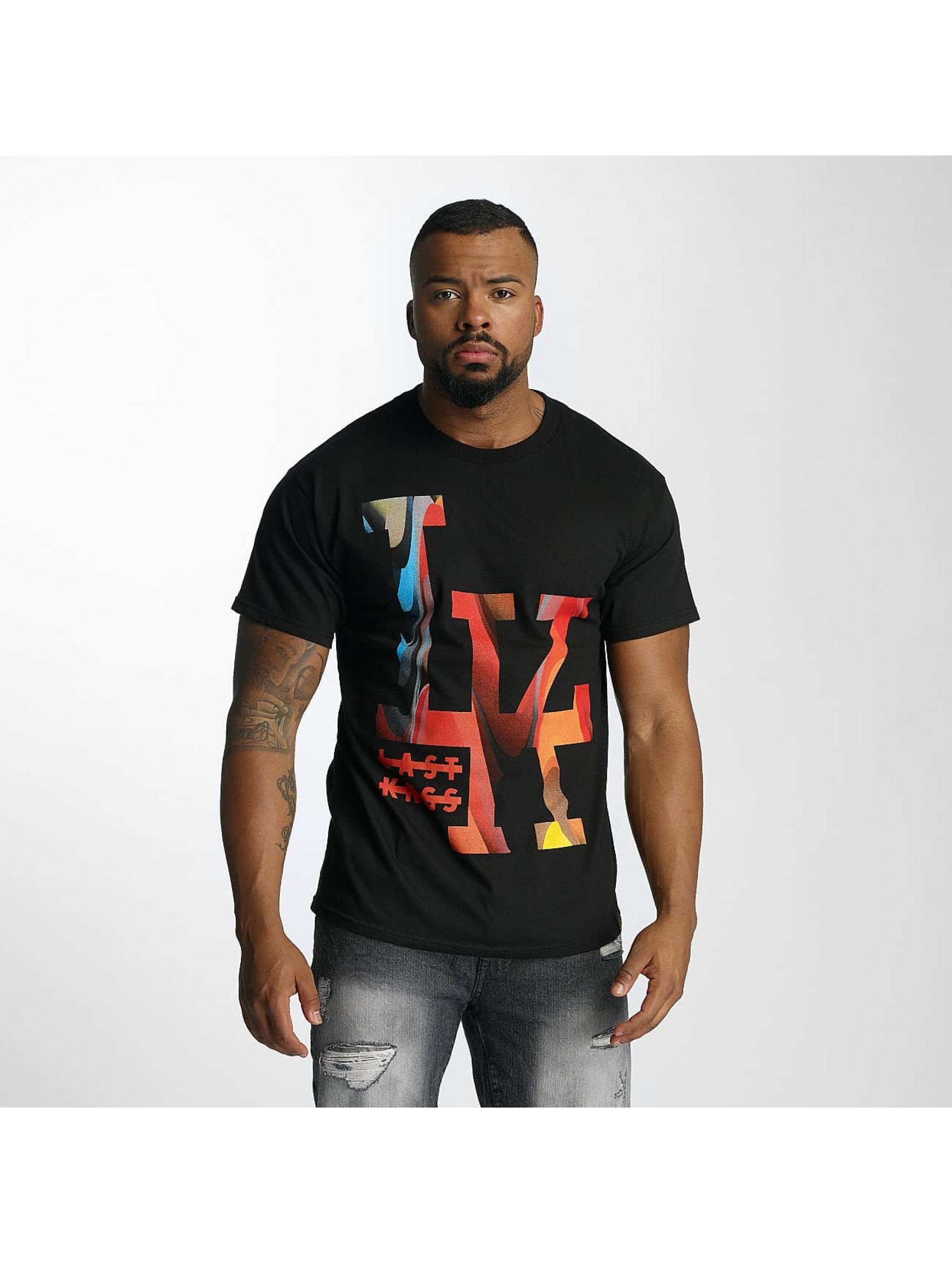 Last Kings Männer T-Shirt Splurge in schwarz