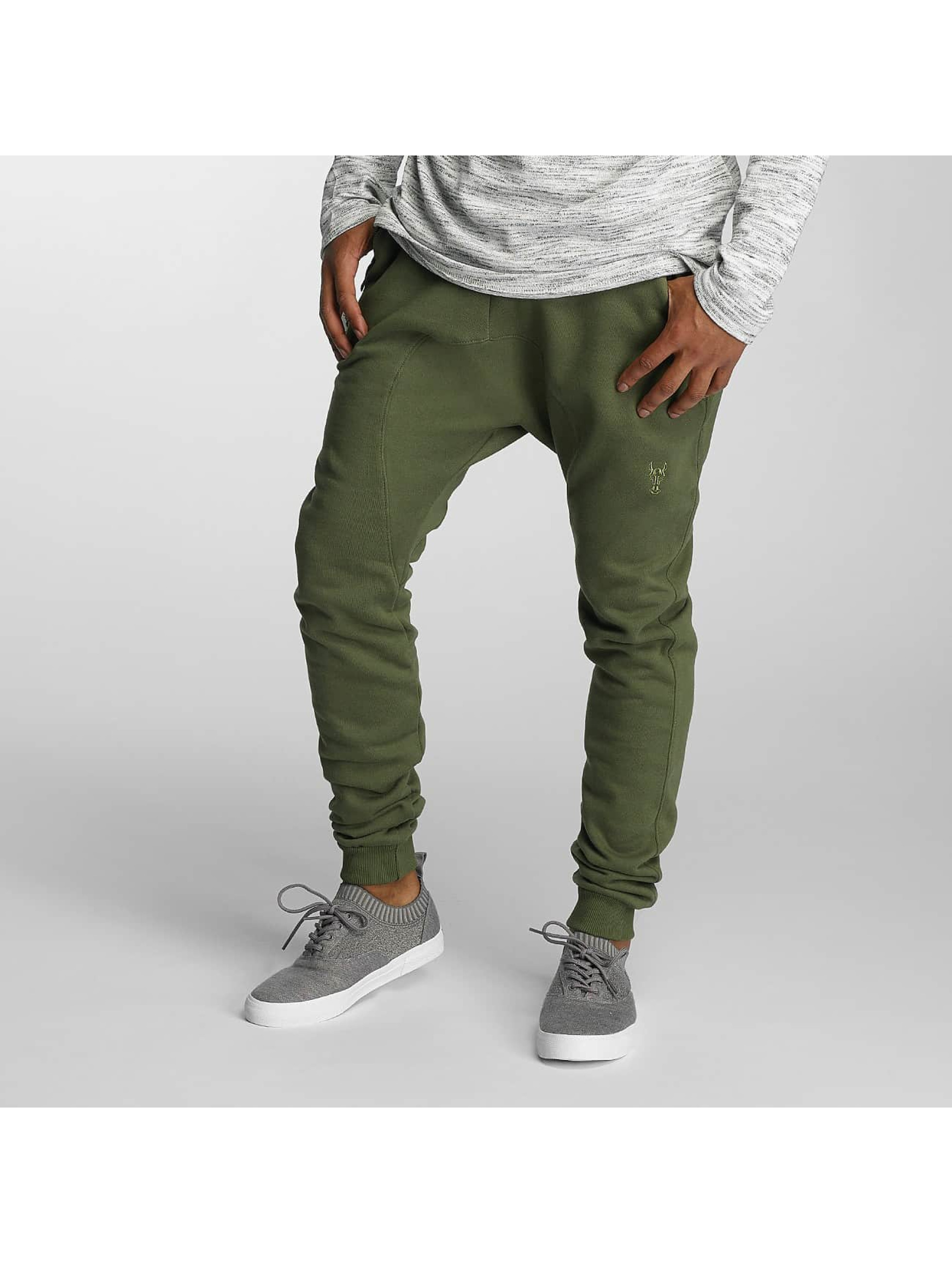 Cavallo de Ferro / Sweat Pant Abram in olive 2XL