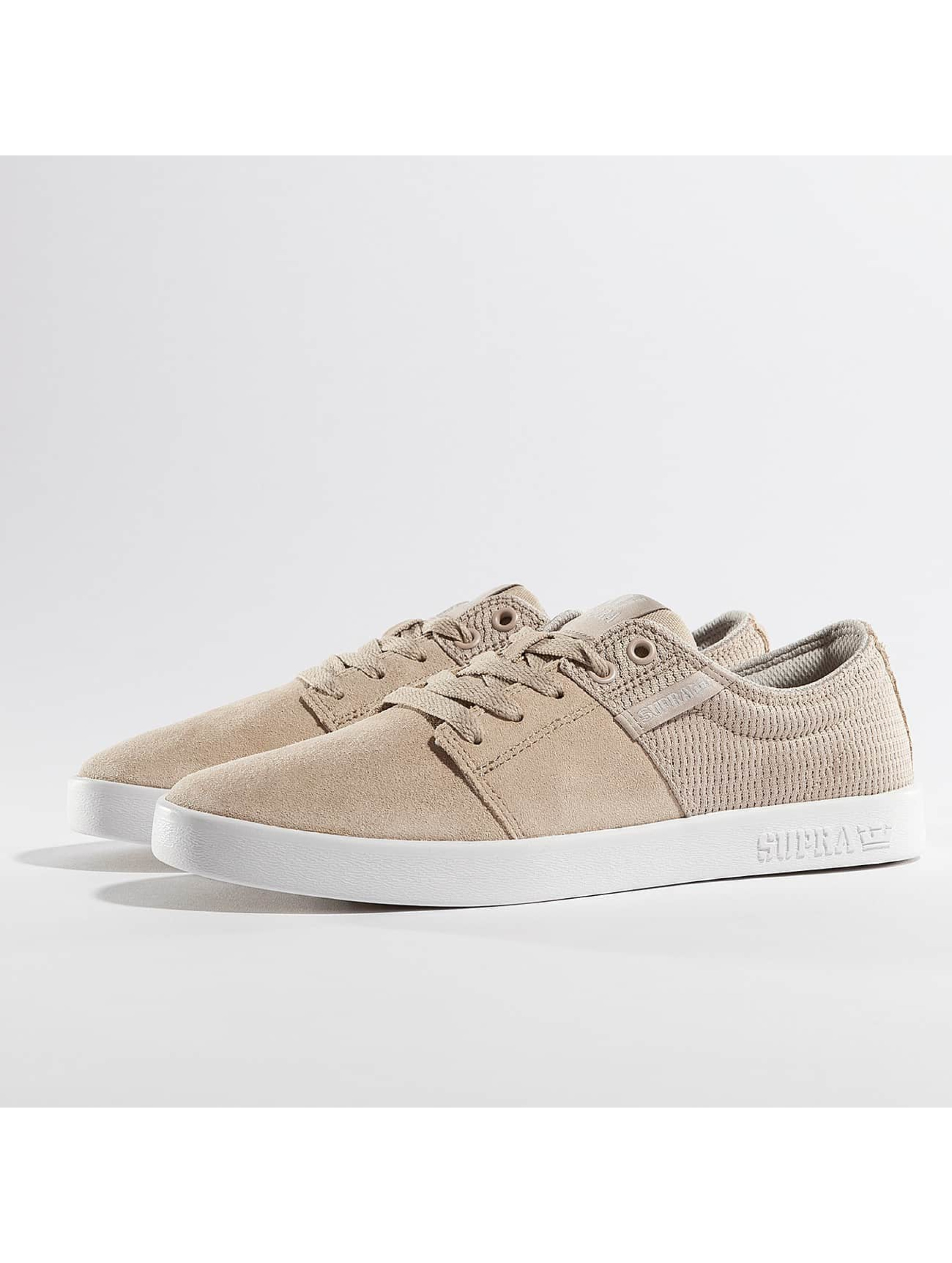 Supra Stacks II Sneakers Tan/White