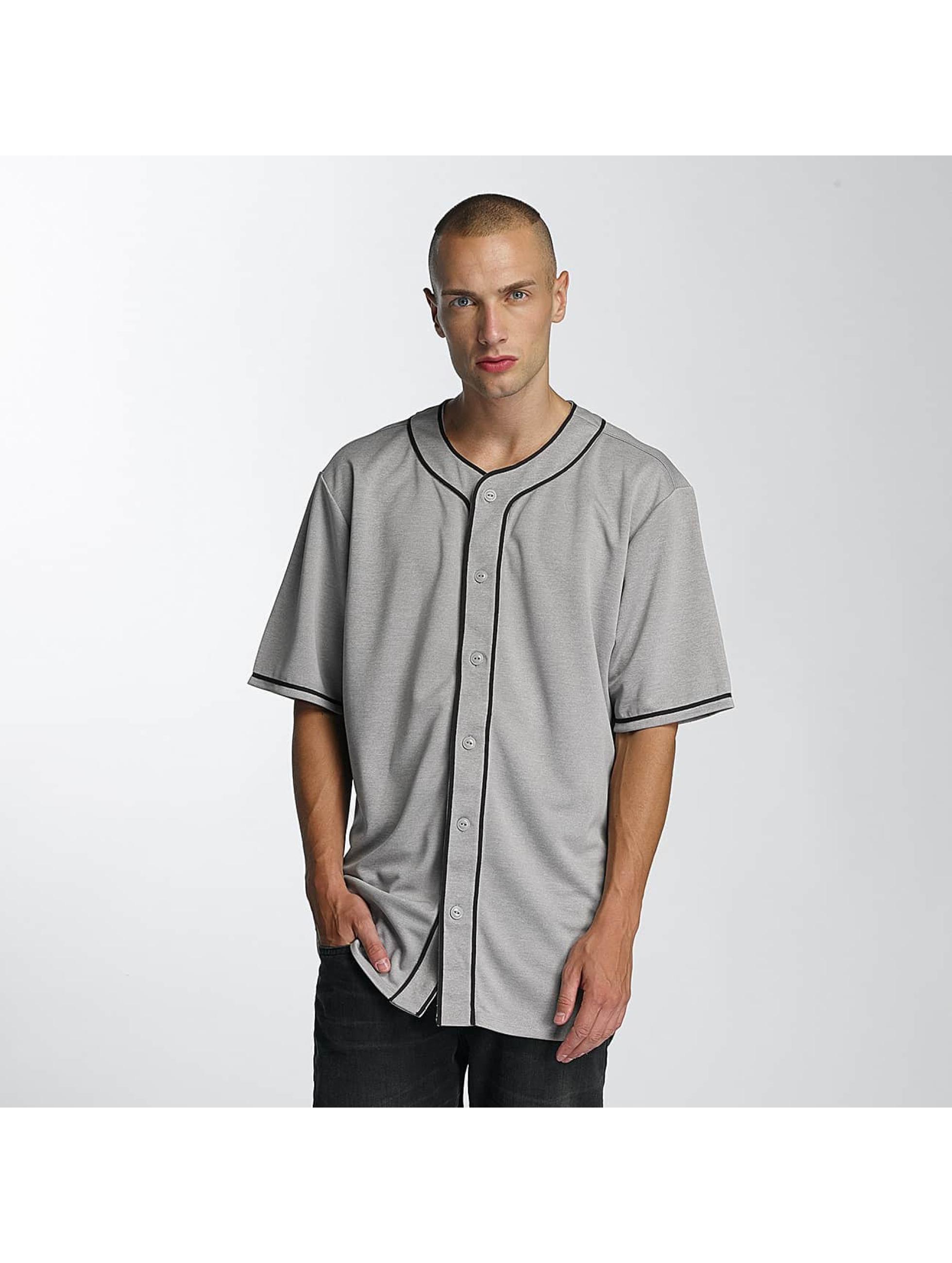 Supra Männer Hemd Club BB in grau