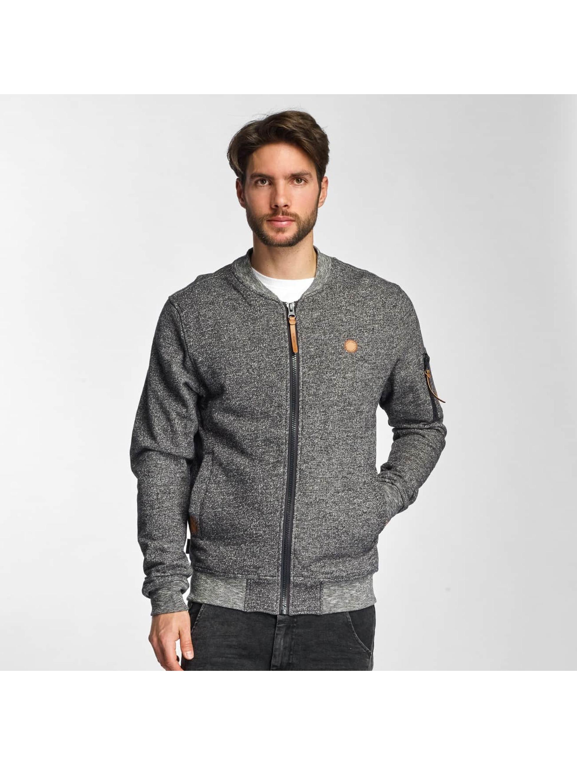 Alife & Kickin Ethan Sweat Bomber Jacket Graphite Sale Angebote Reuthen