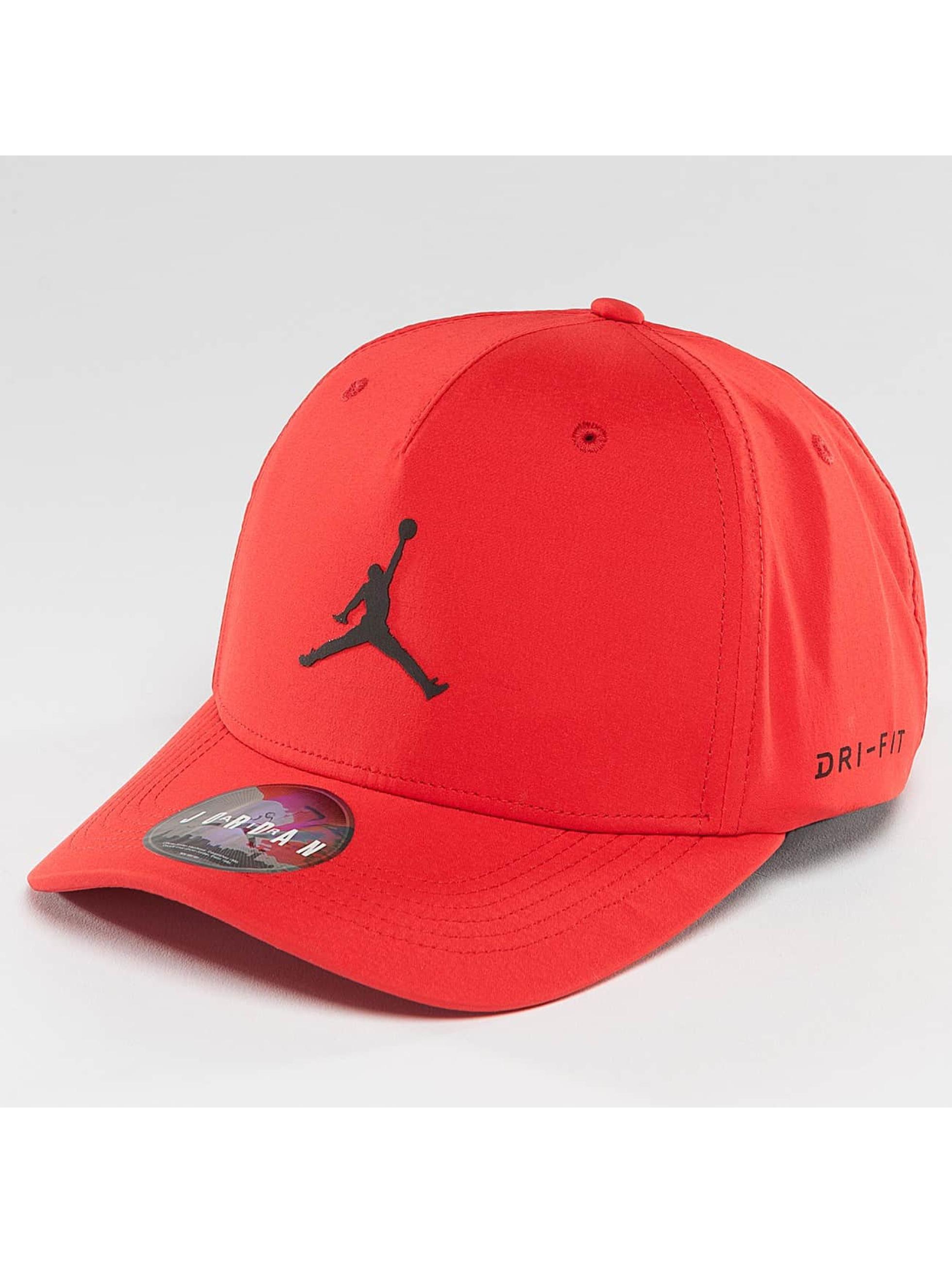 Jordan Männer,Frauen Flexfitted Cap Jumpman CLC99 in rot