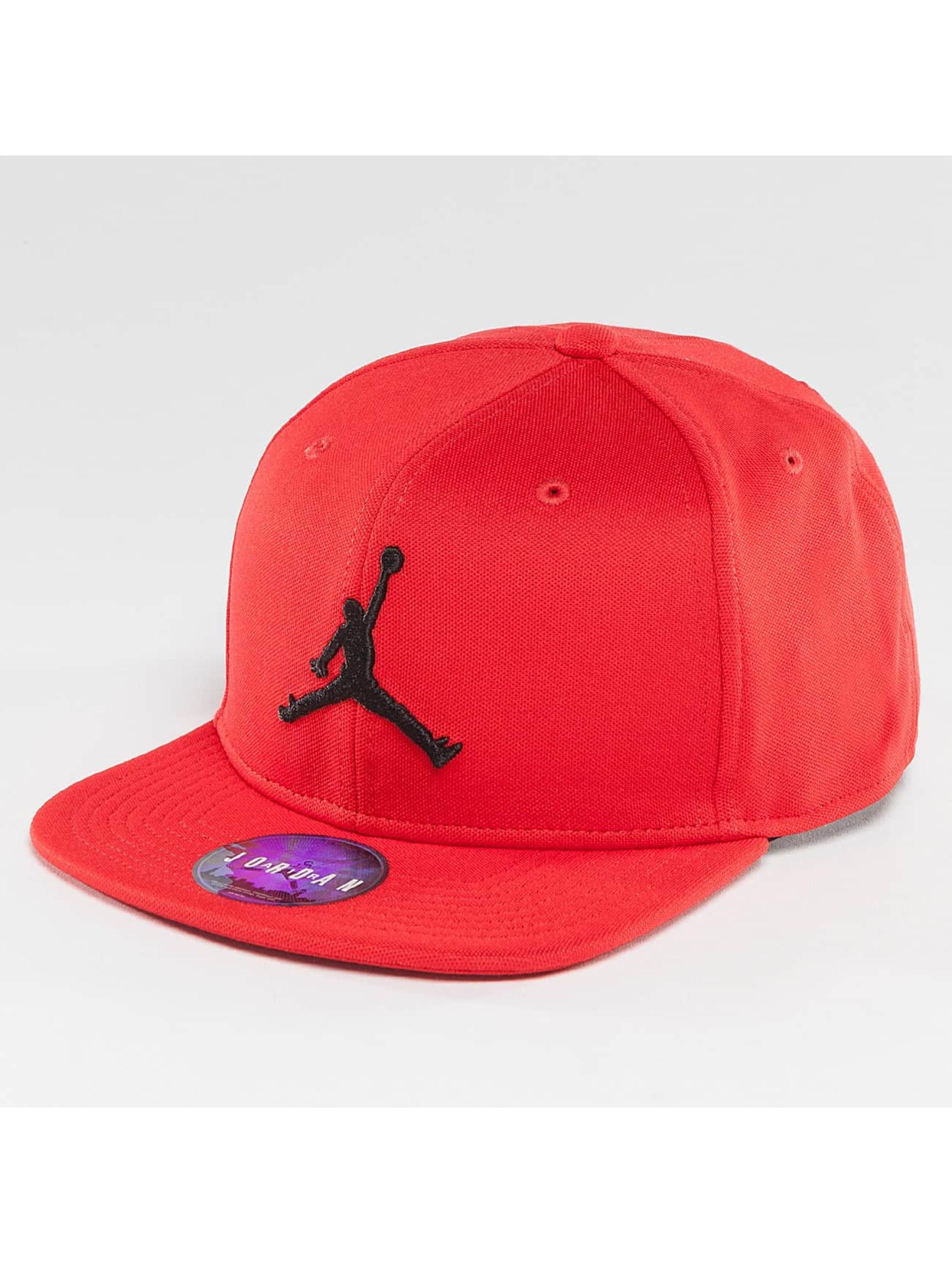 Jordan Männer,Frauen Snapback Cap Jumpman in rot