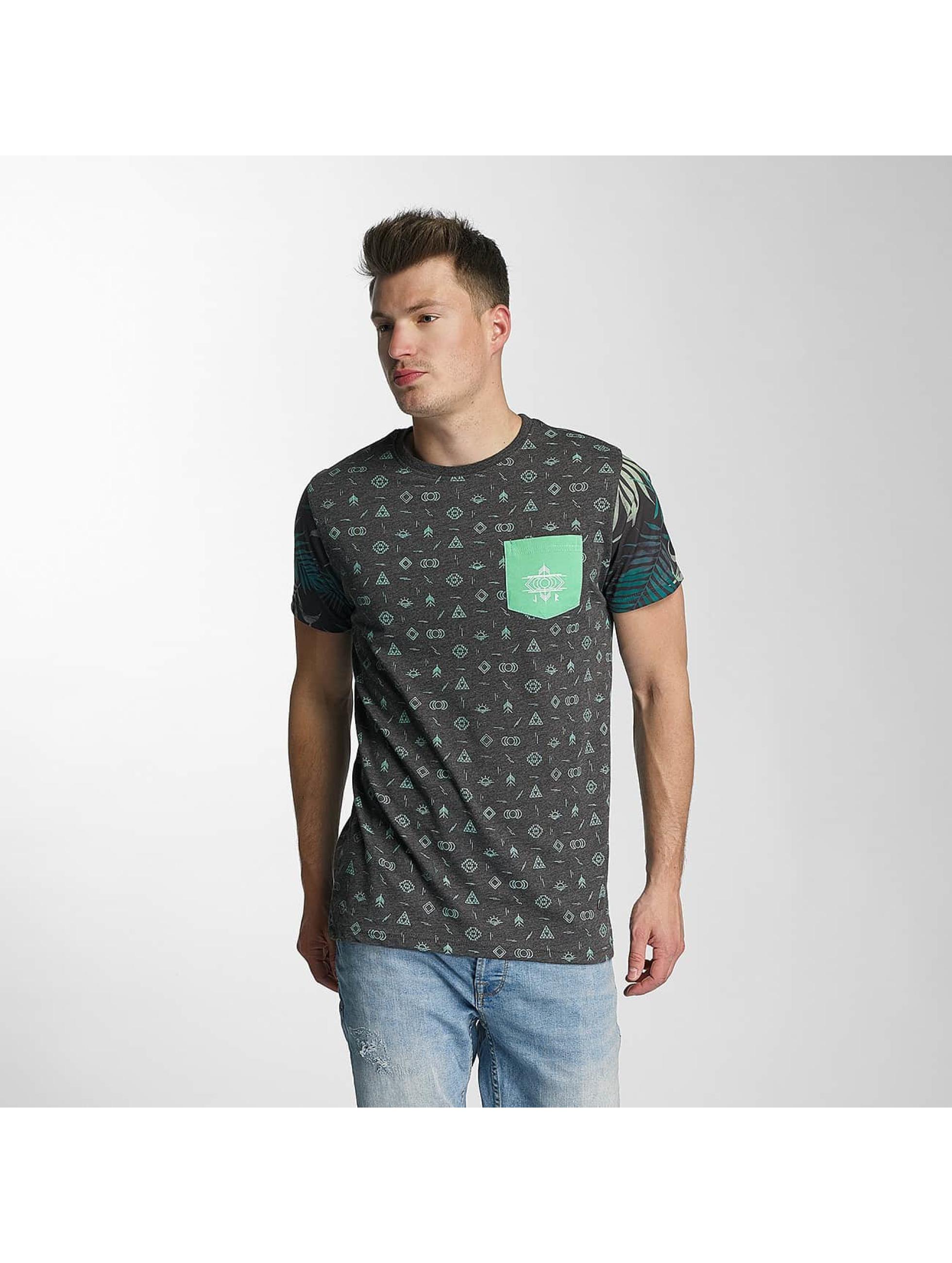 Just Rhyse Männer T-Shirt Lake Davi´s in schwarz