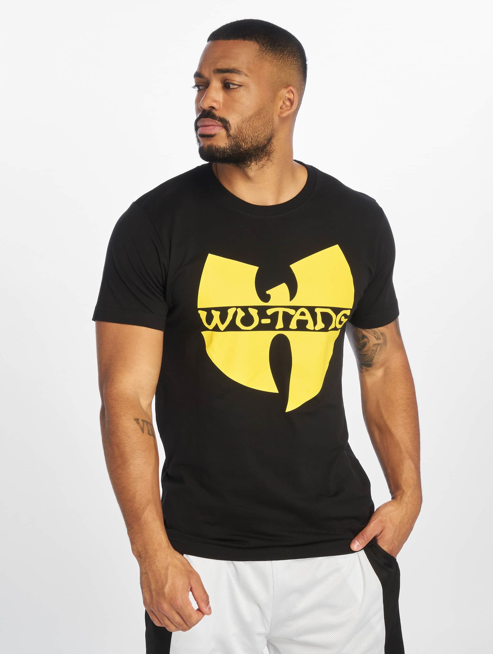 Wu-Tang Männer T-Shirt Logo in schwarz