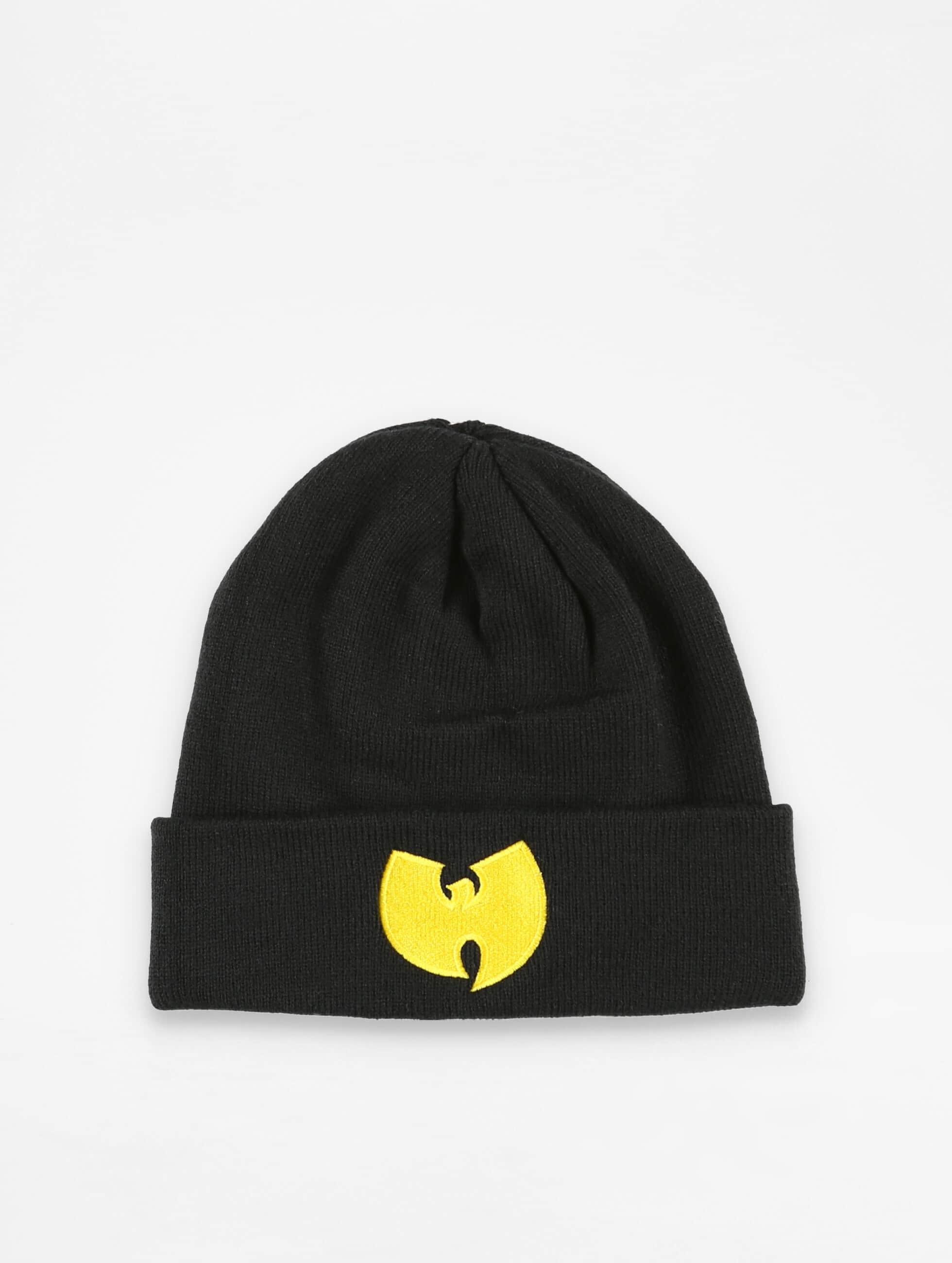 Wu-Tang Männer,Frauen Beanie Logo in schwarz