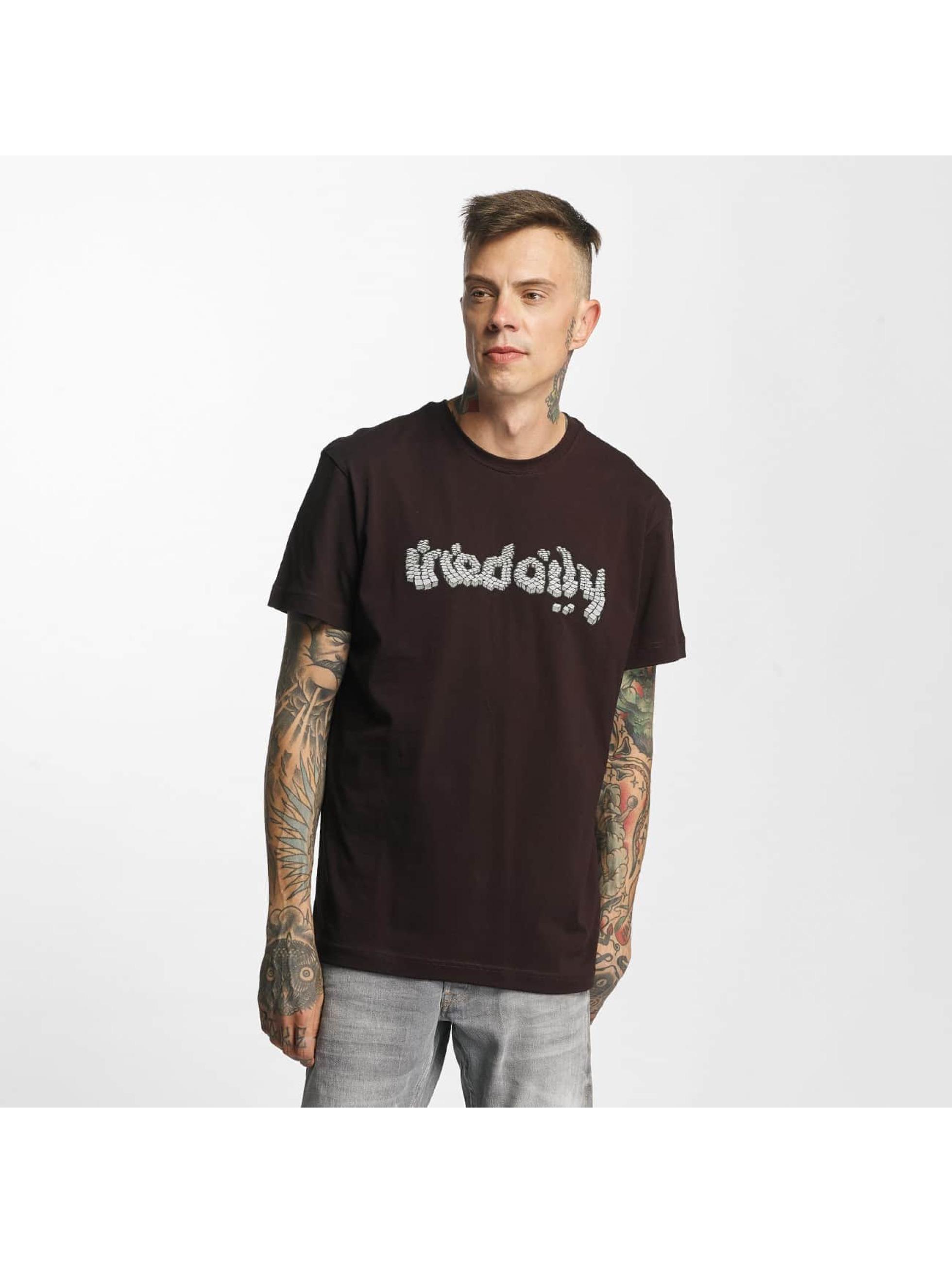 Iriedaily Männer T-Shirt Cobblestone in rot
