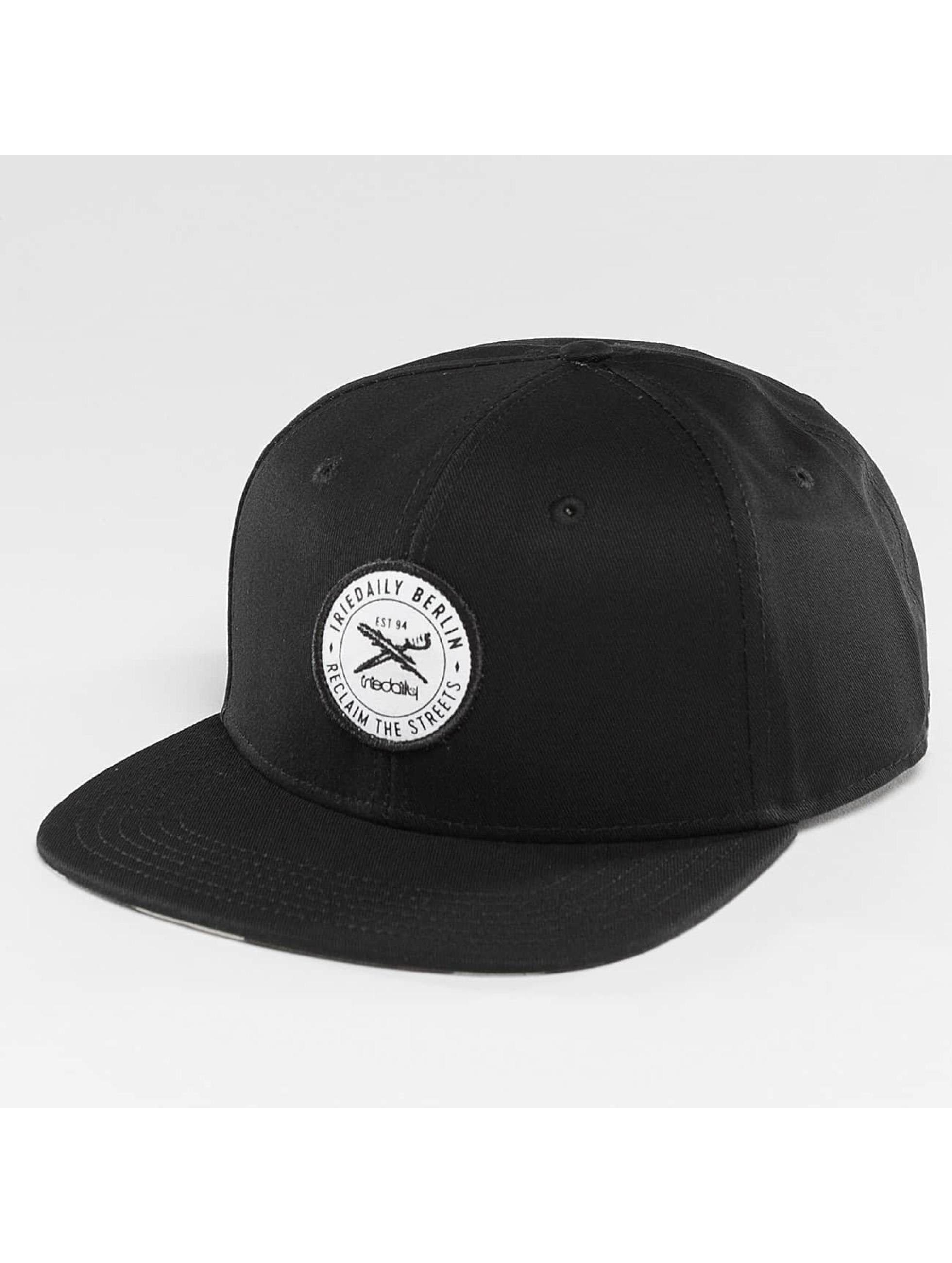 Iriedaily Männer,Frauen Snapback Cap Reclaim in schwarz