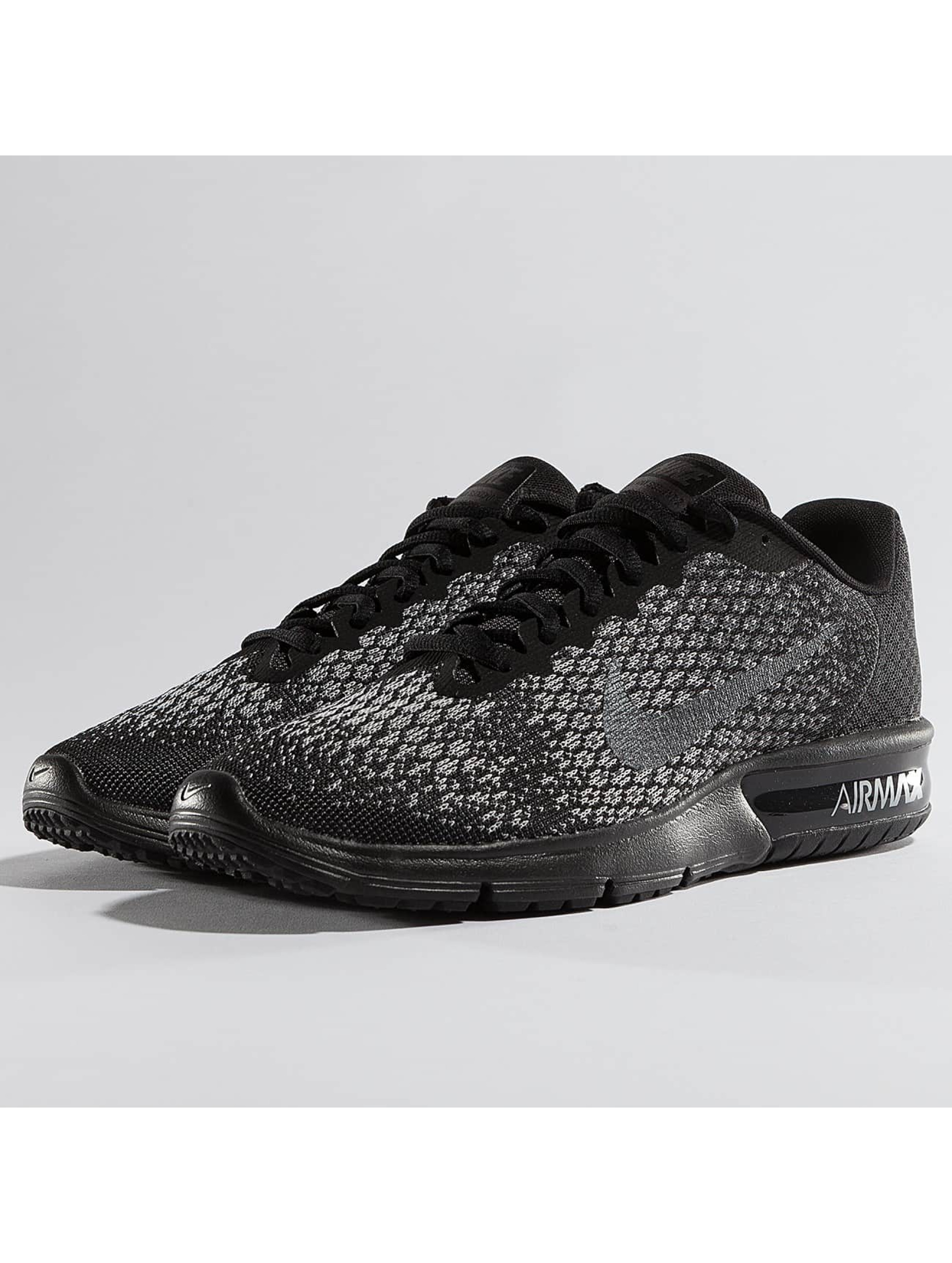 Nike Air Max Sequent 2 Sneakers Black/Metallic Hematite/Dark Grey/Wolf Grey