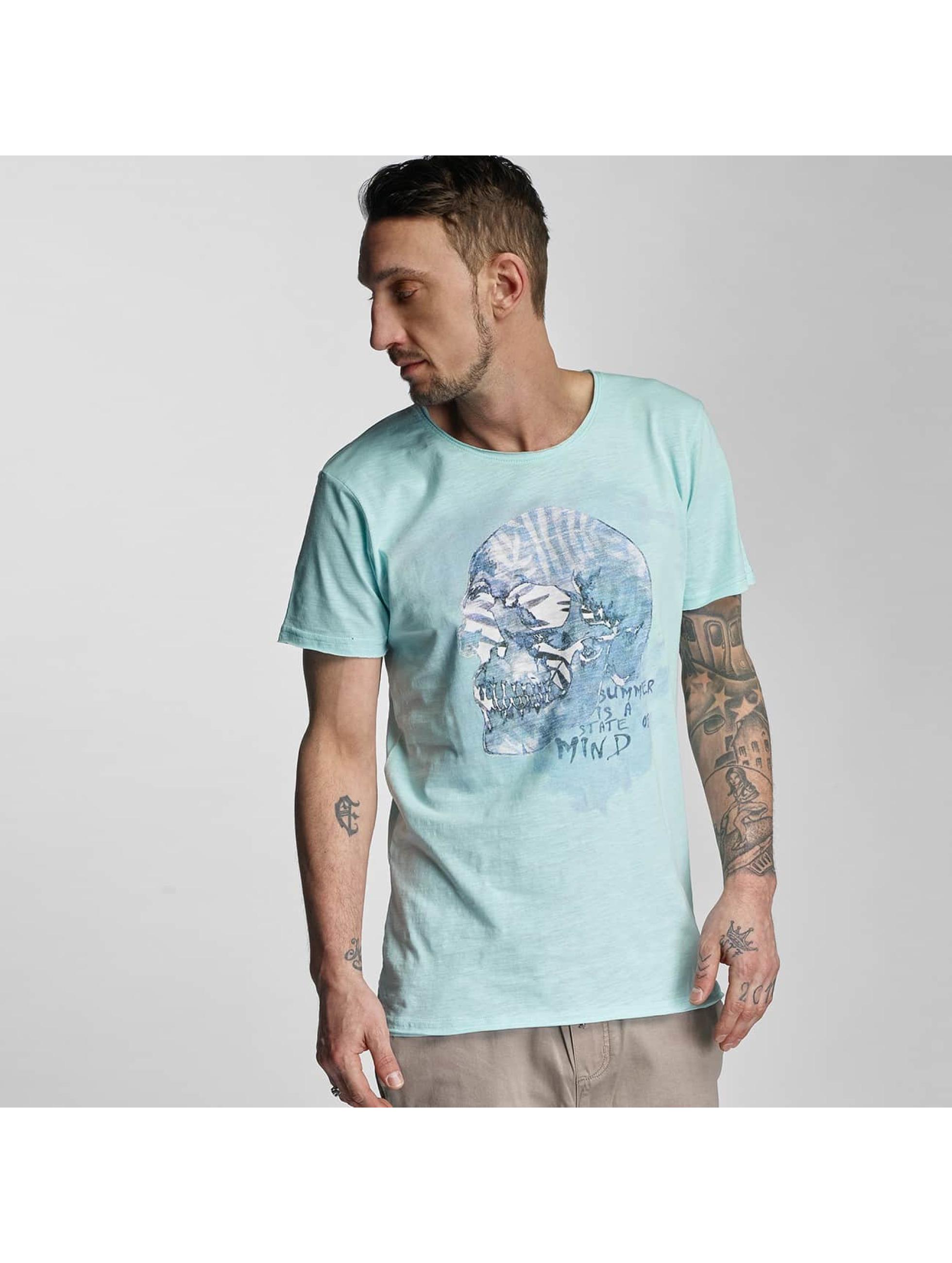 Stitch & Soul Männer T-Shirt Summer in türkis