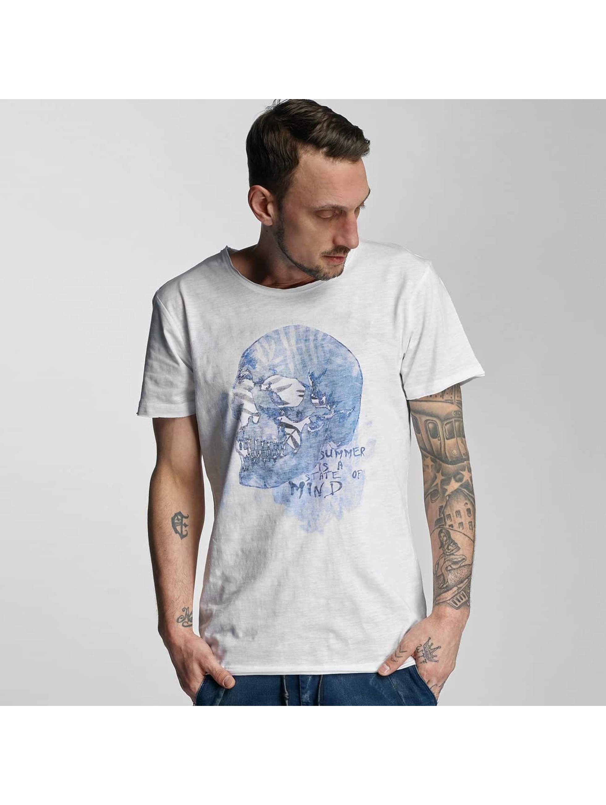 Stitch & Soul Männer T-Shirt Summer in weiß