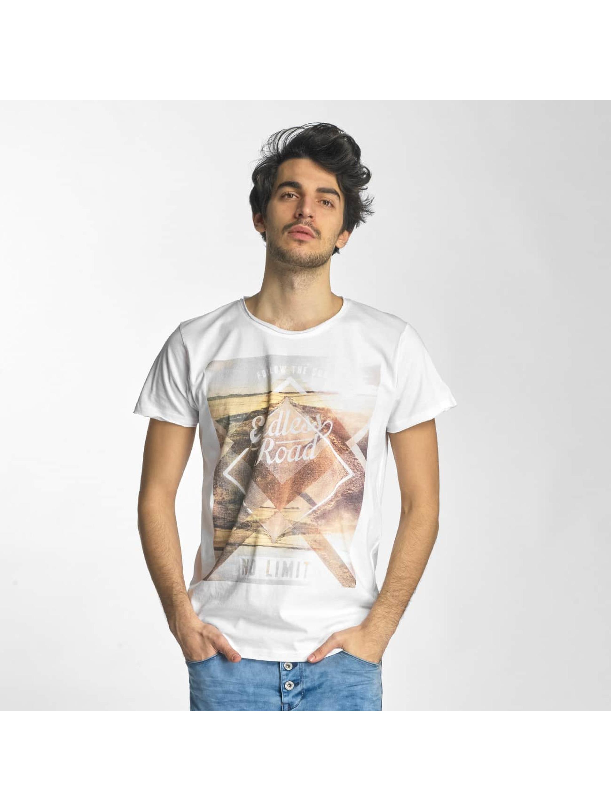 Sublevel Männer T-Shirt No Limit in weiß
