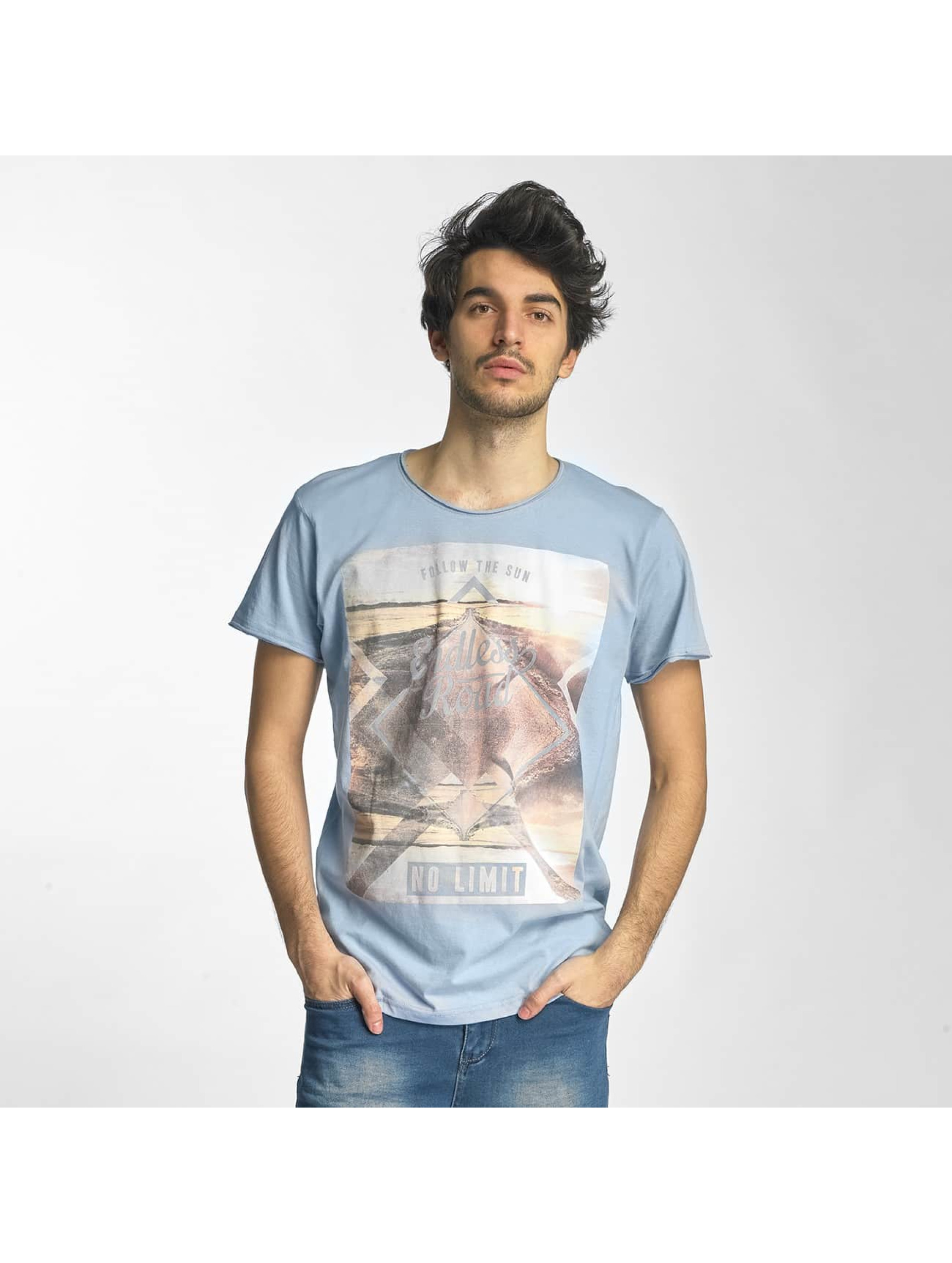 Sublevel Männer T-Shirt No Limit in blau