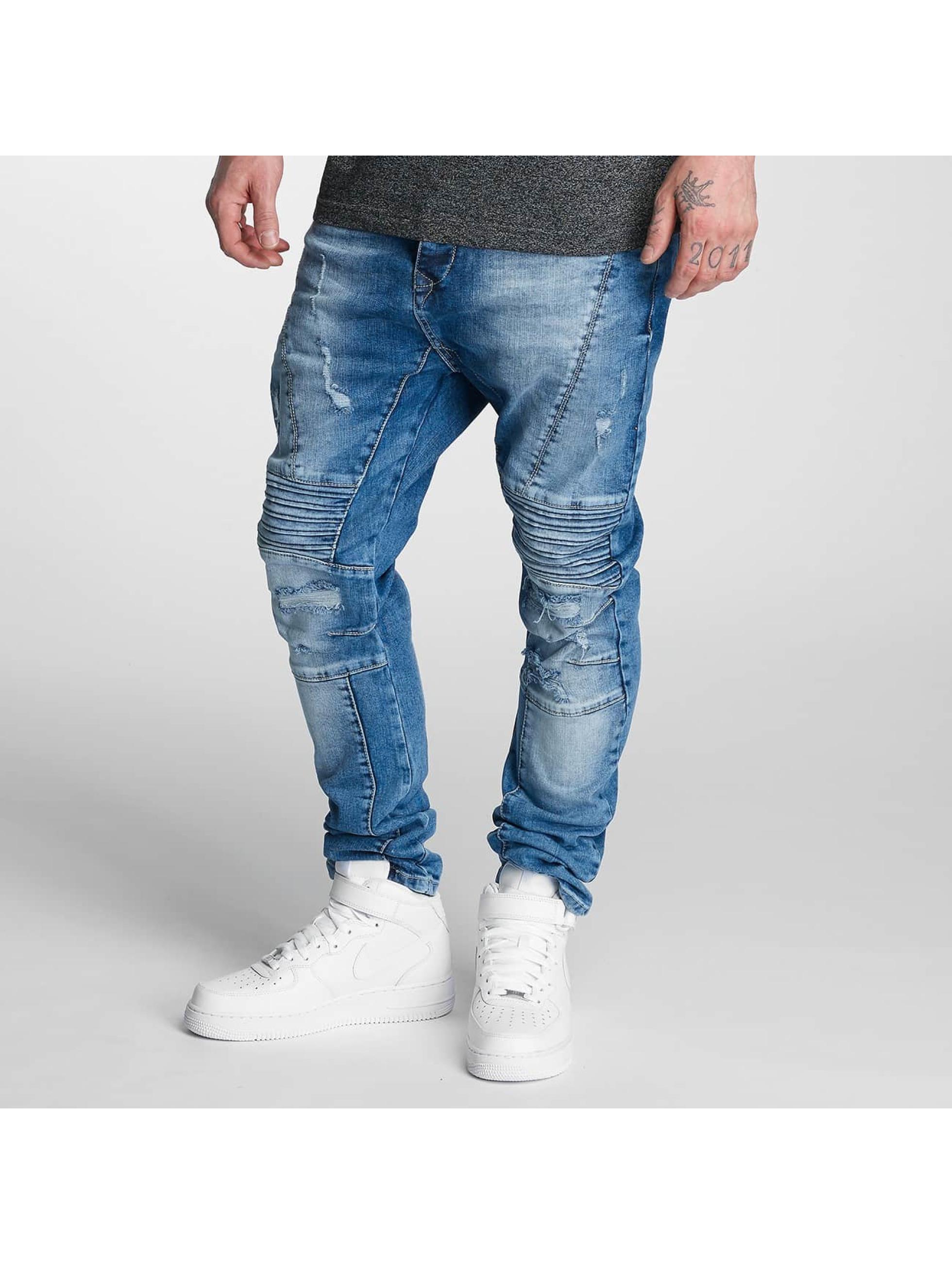 Bangastic Männer Slim Fit Jeans Joel in blau
