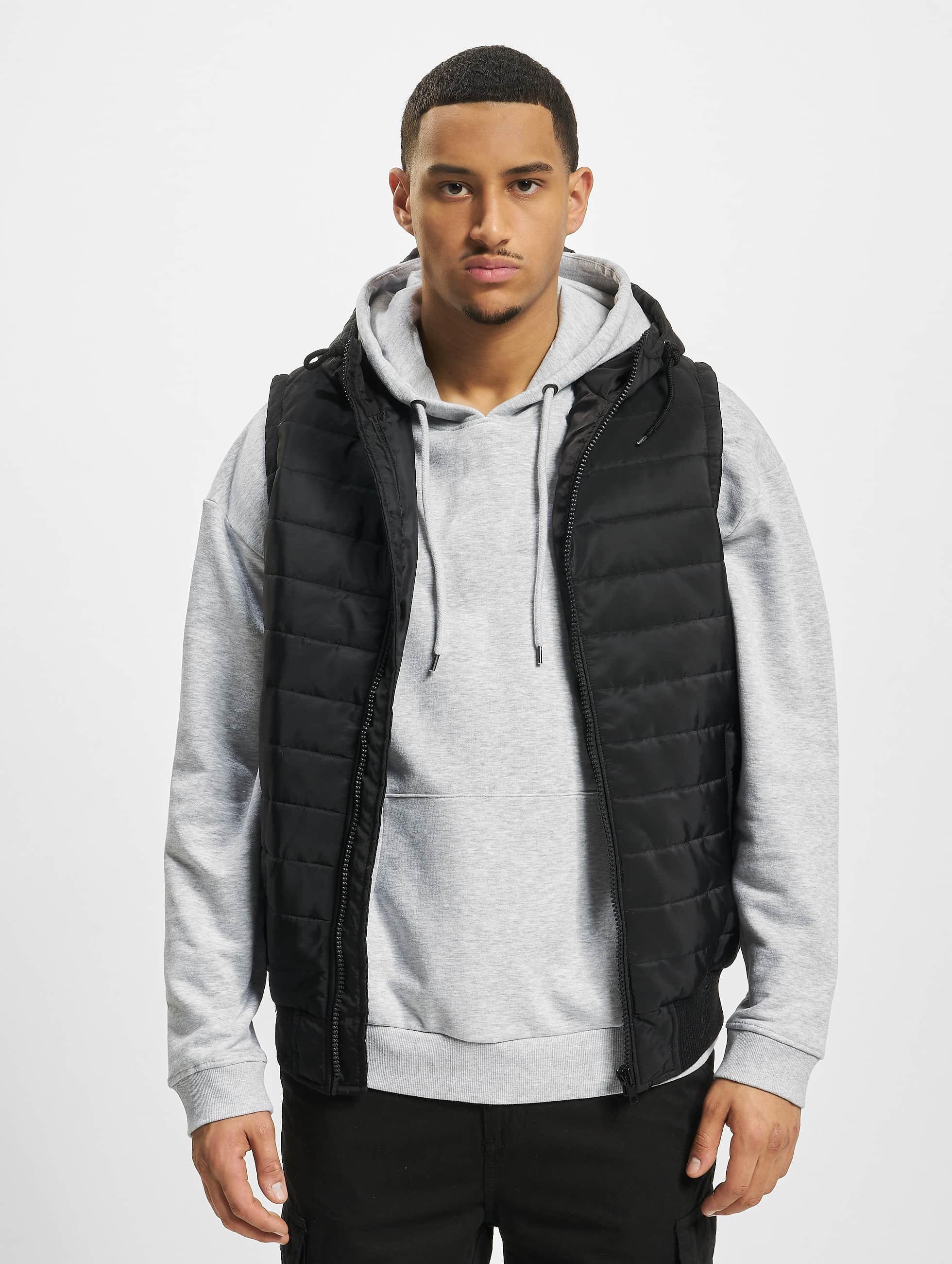 DEF / Vest Quilted in black XL